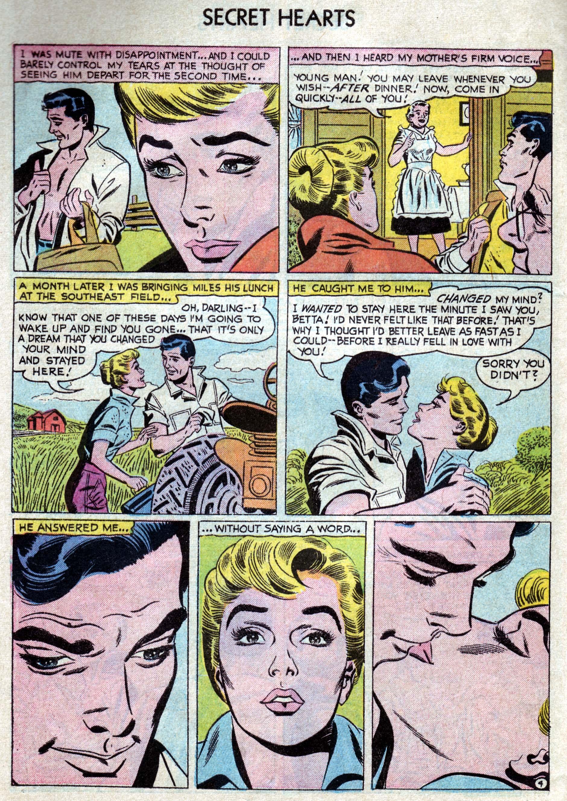 Read online Secret Hearts comic -  Issue #33 - 30