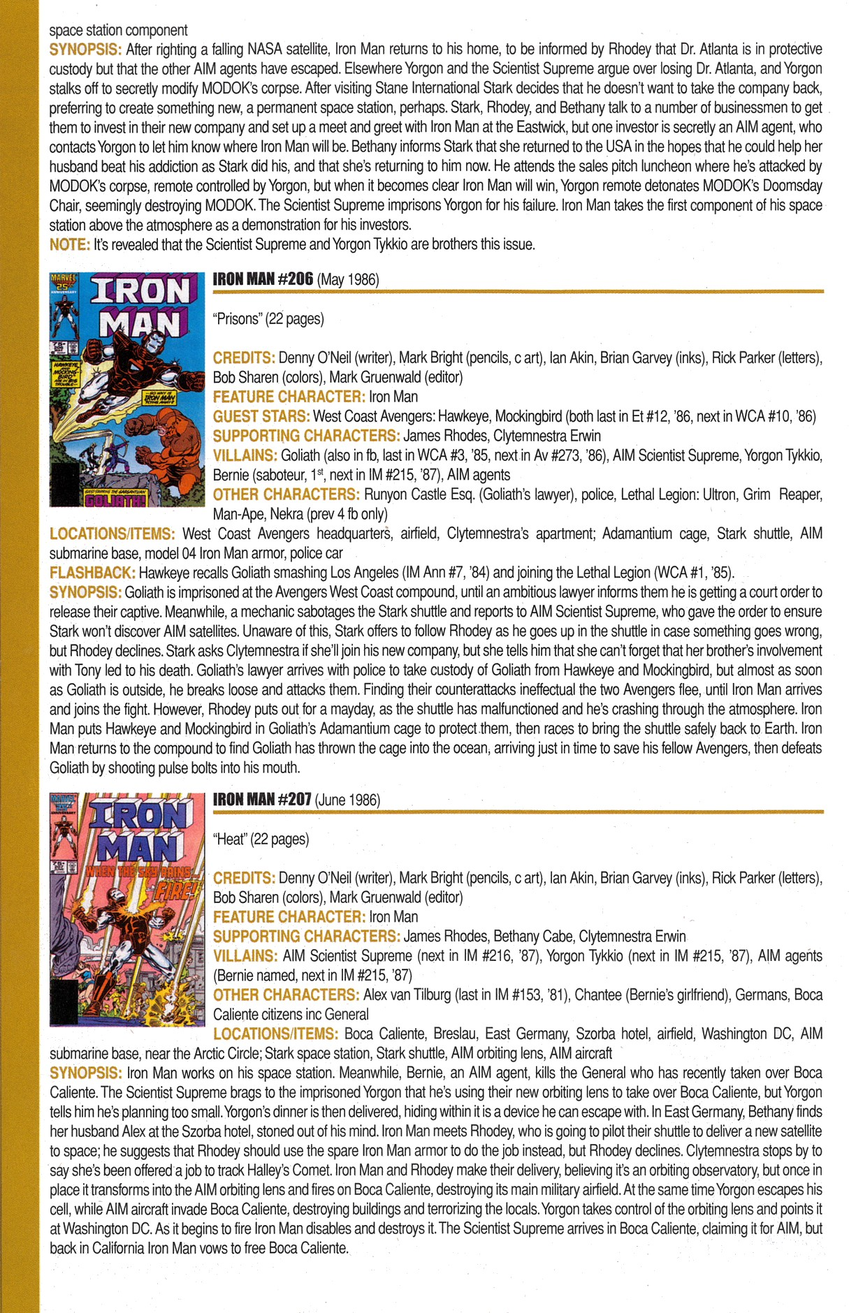 Read online Official Index to the Marvel Universe comic -  Issue #6 - 40