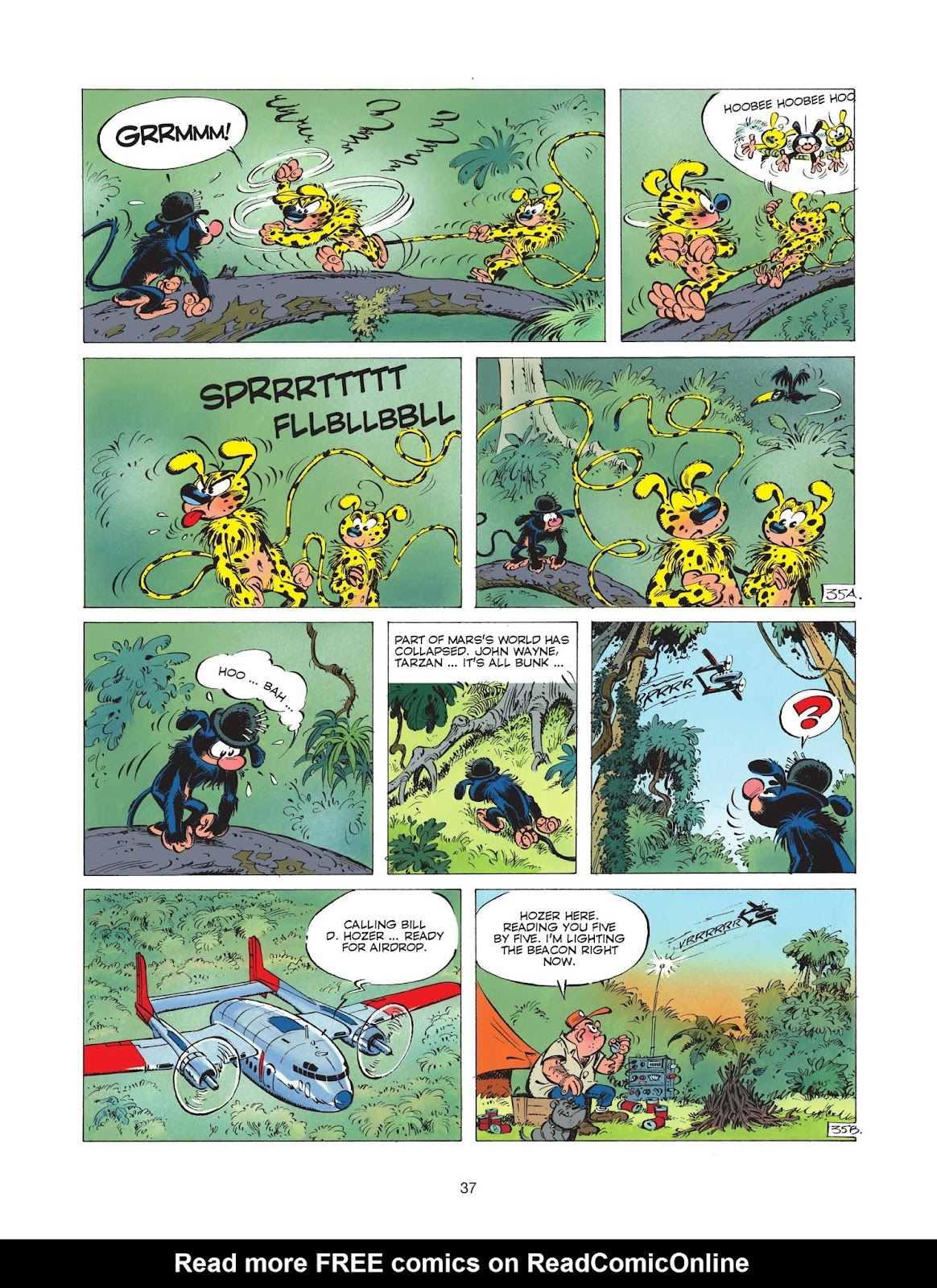 Marsupilami #3 - Read Marsupilami Issue #3 Online