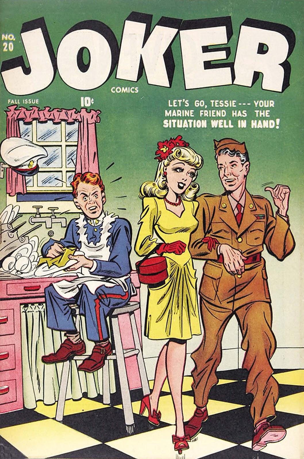 Read online Joker Comics comic -  Issue #20 - 1
