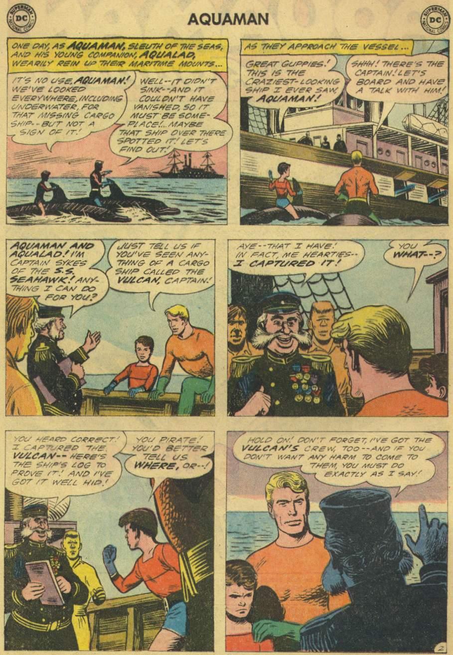 Read online Aquaman (1962) comic -  Issue #2 - 4