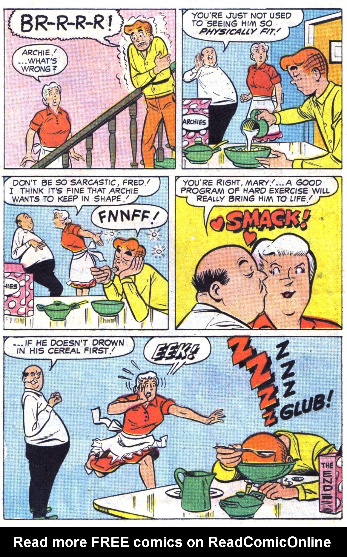 Read online Archie (1960) comic -  Issue #189 - 24