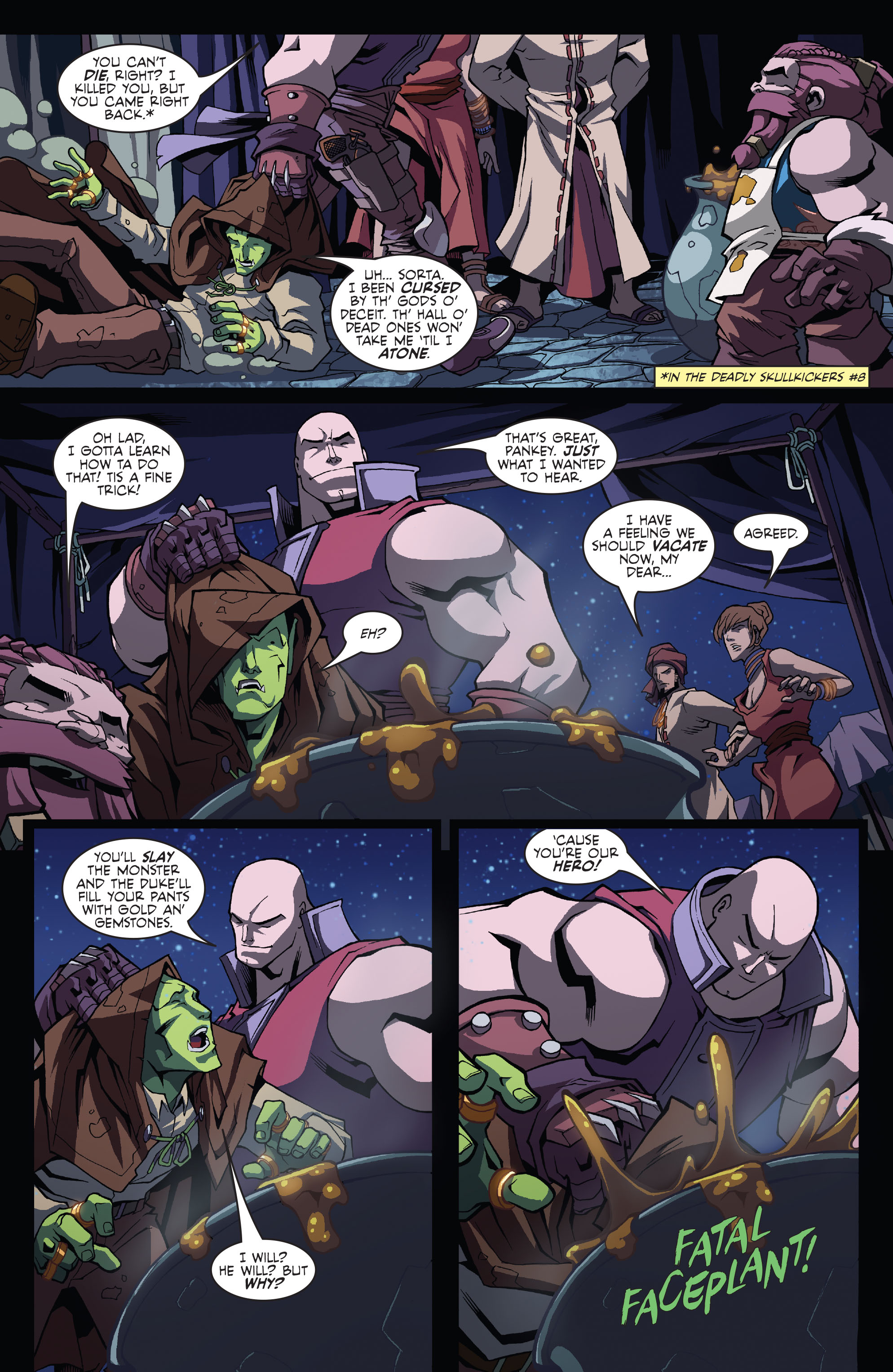 Read online Skullkickers comic -  Issue #11 - 14