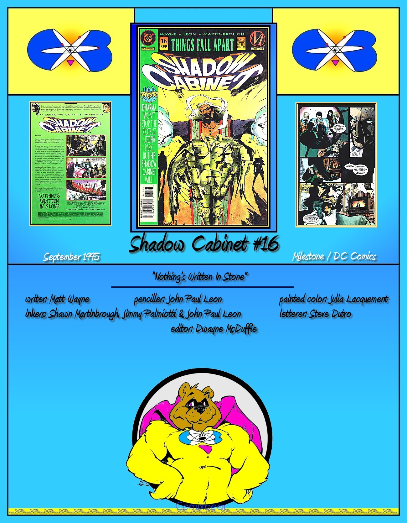 Read online Shadow Cabinet comic -  Issue #16 - 37