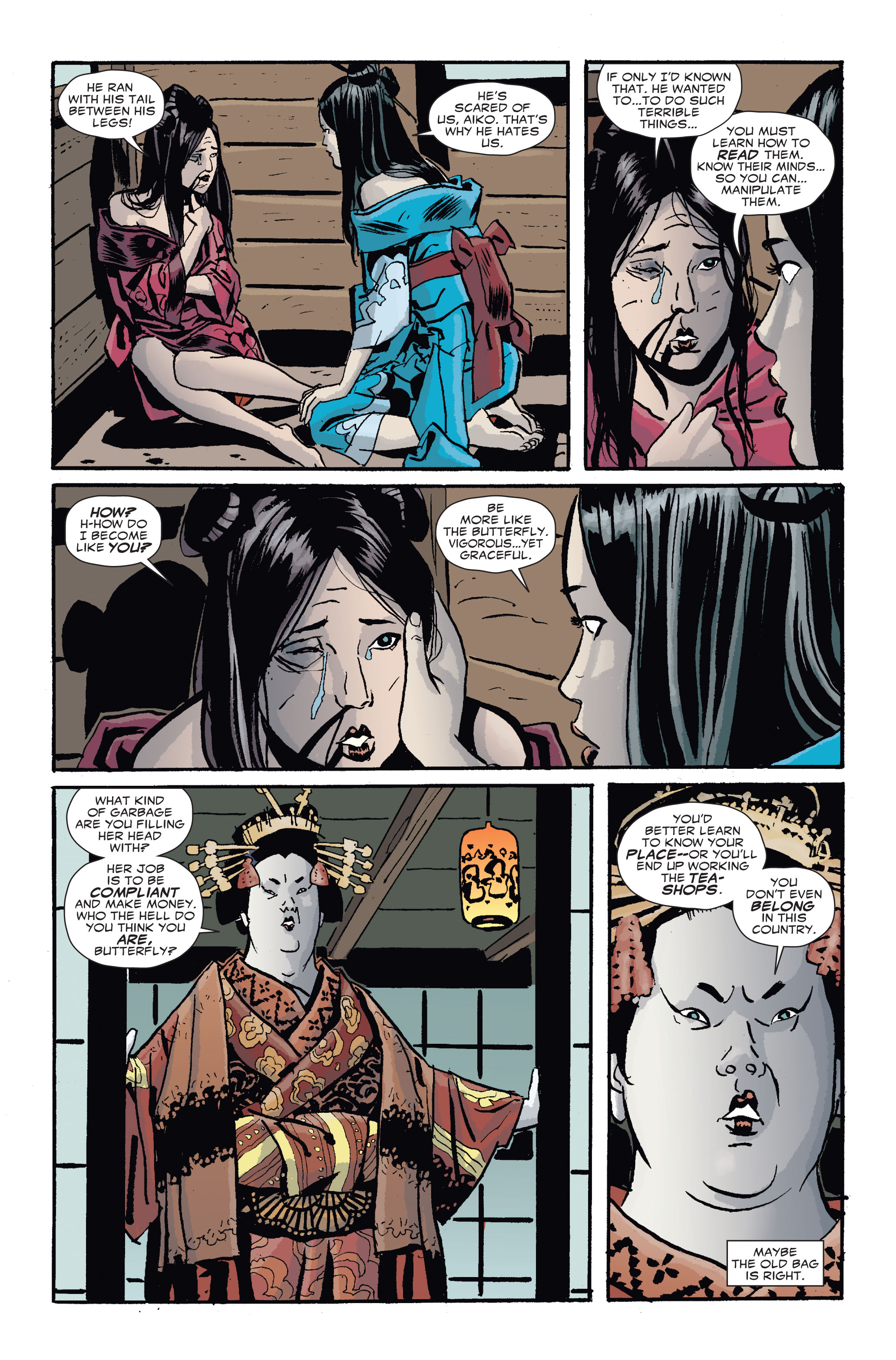 Read online 5 Ronin (2011) comic -  Issue #4 - 9