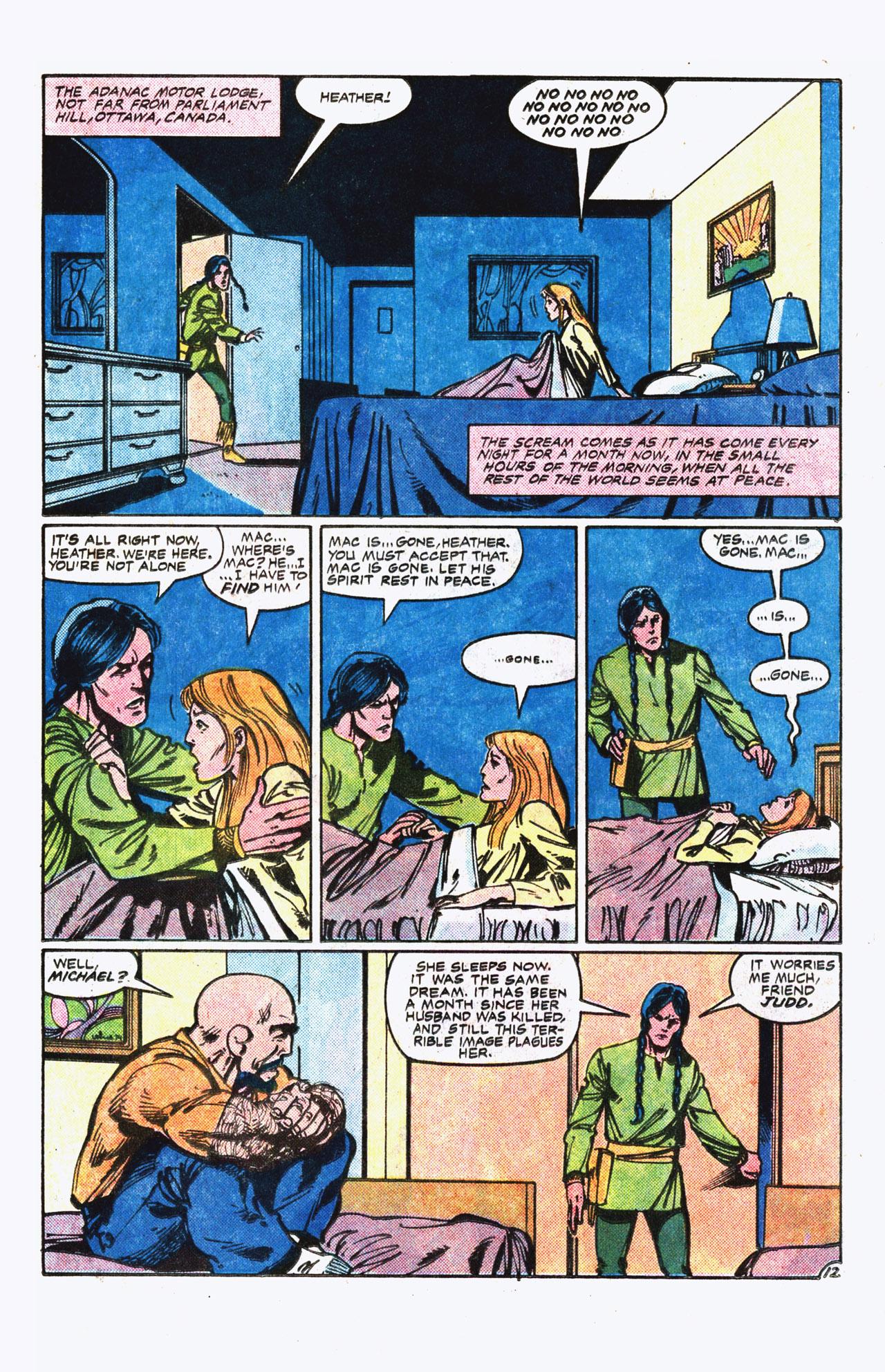Read online Alpha Flight (1983) comic -  Issue #13 - 13