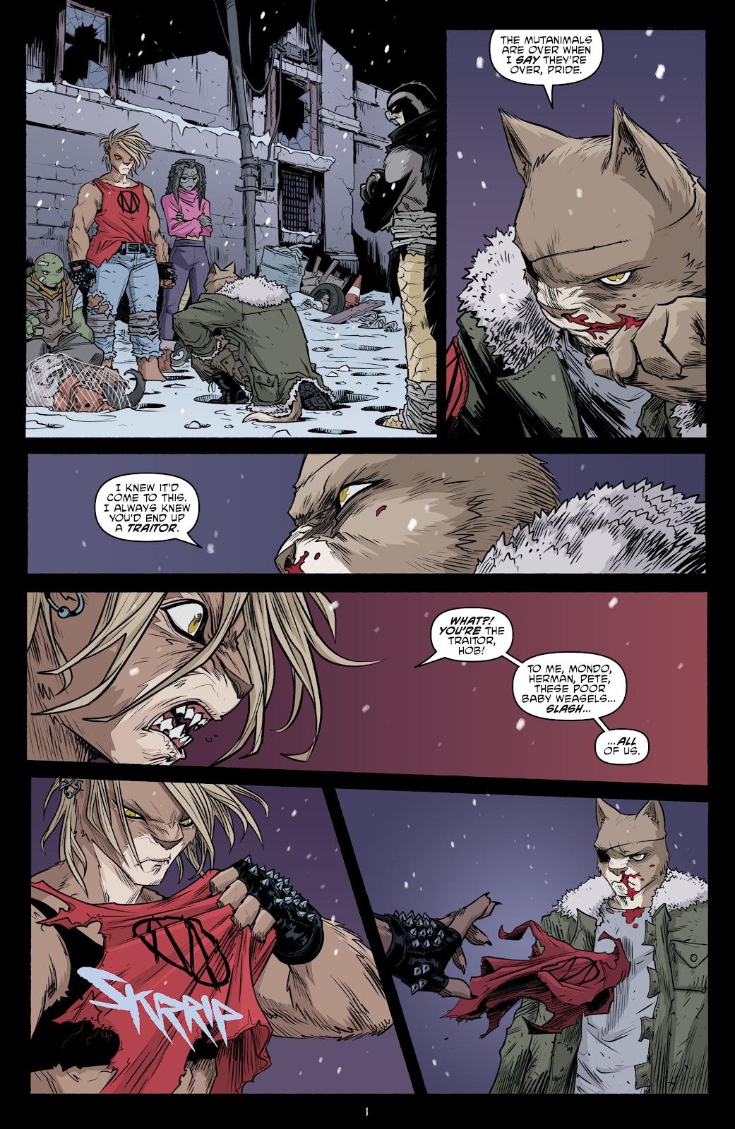 Read online Teenage Mutant Ninja Turtles (2011) comic -  Issue #104 - 3
