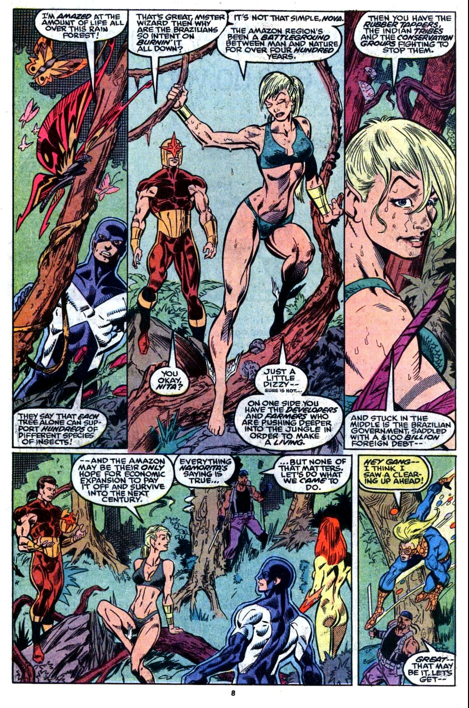 The New Warriors Issue #8 #12 - English 8