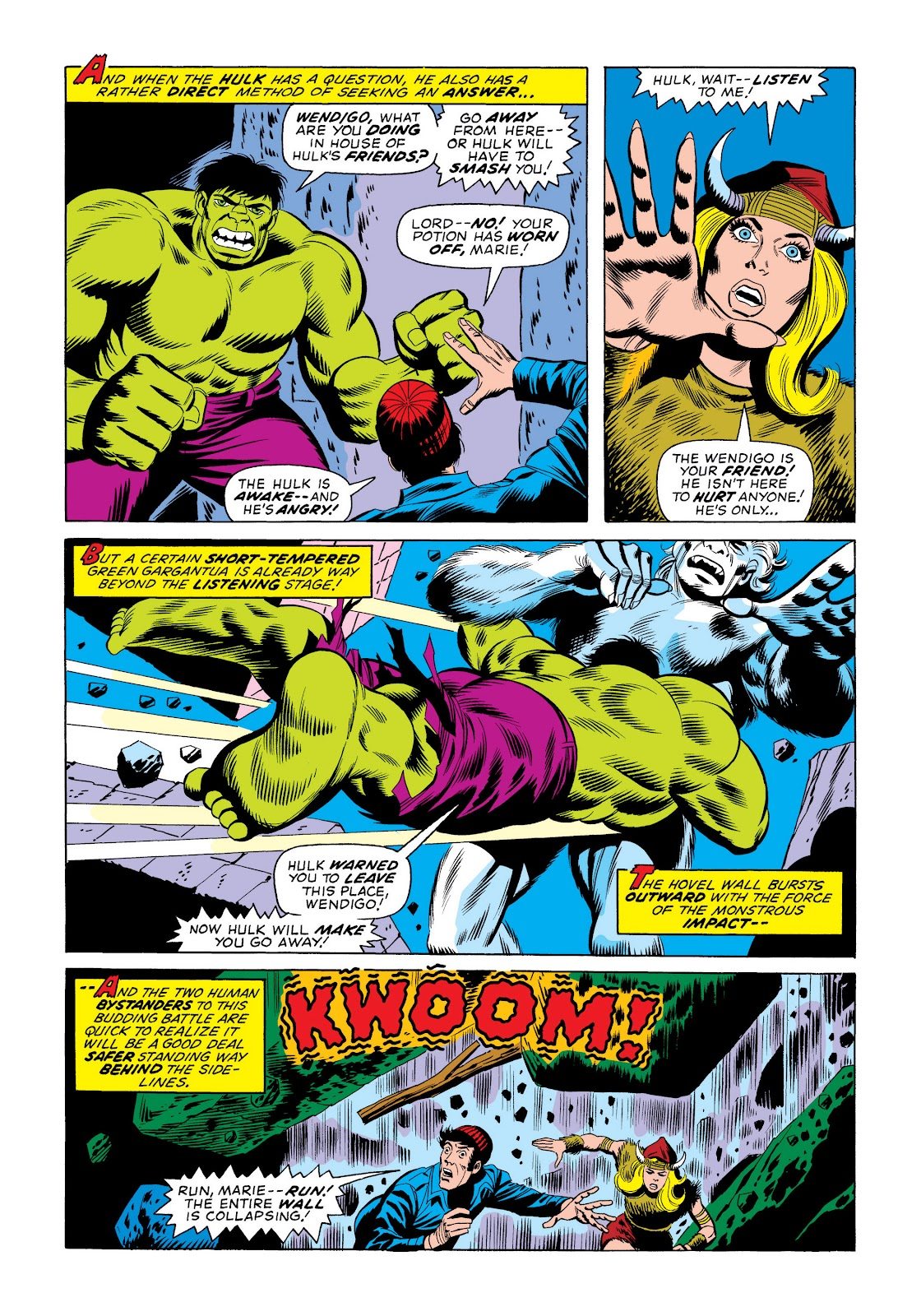 Read online Marvel Masterworks: The Incredible Hulk comic -  Issue # TPB 10 (Part 2) - 99