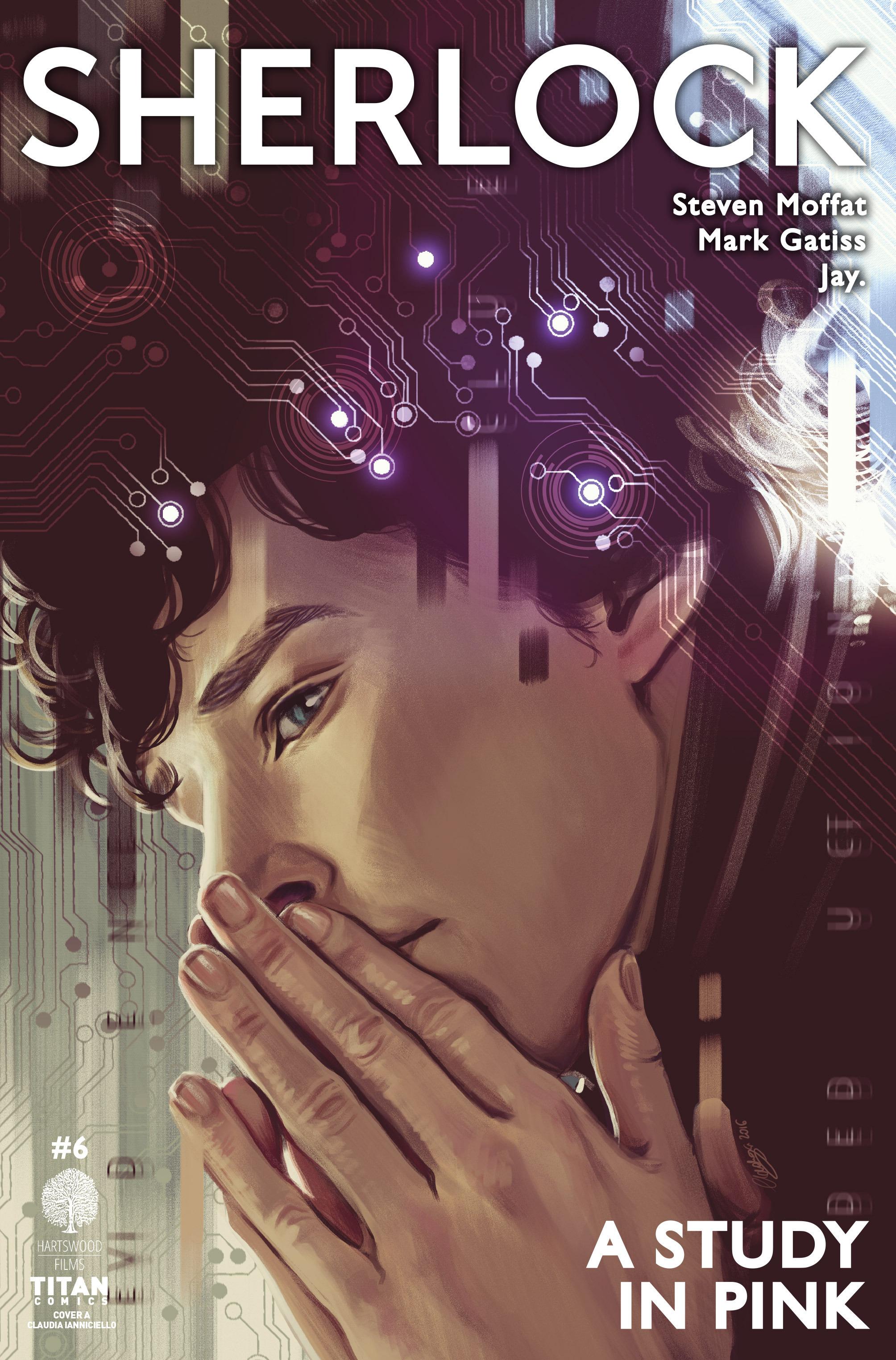 Read online Sherlock: A Study In Pink comic -  Issue #6 - 1