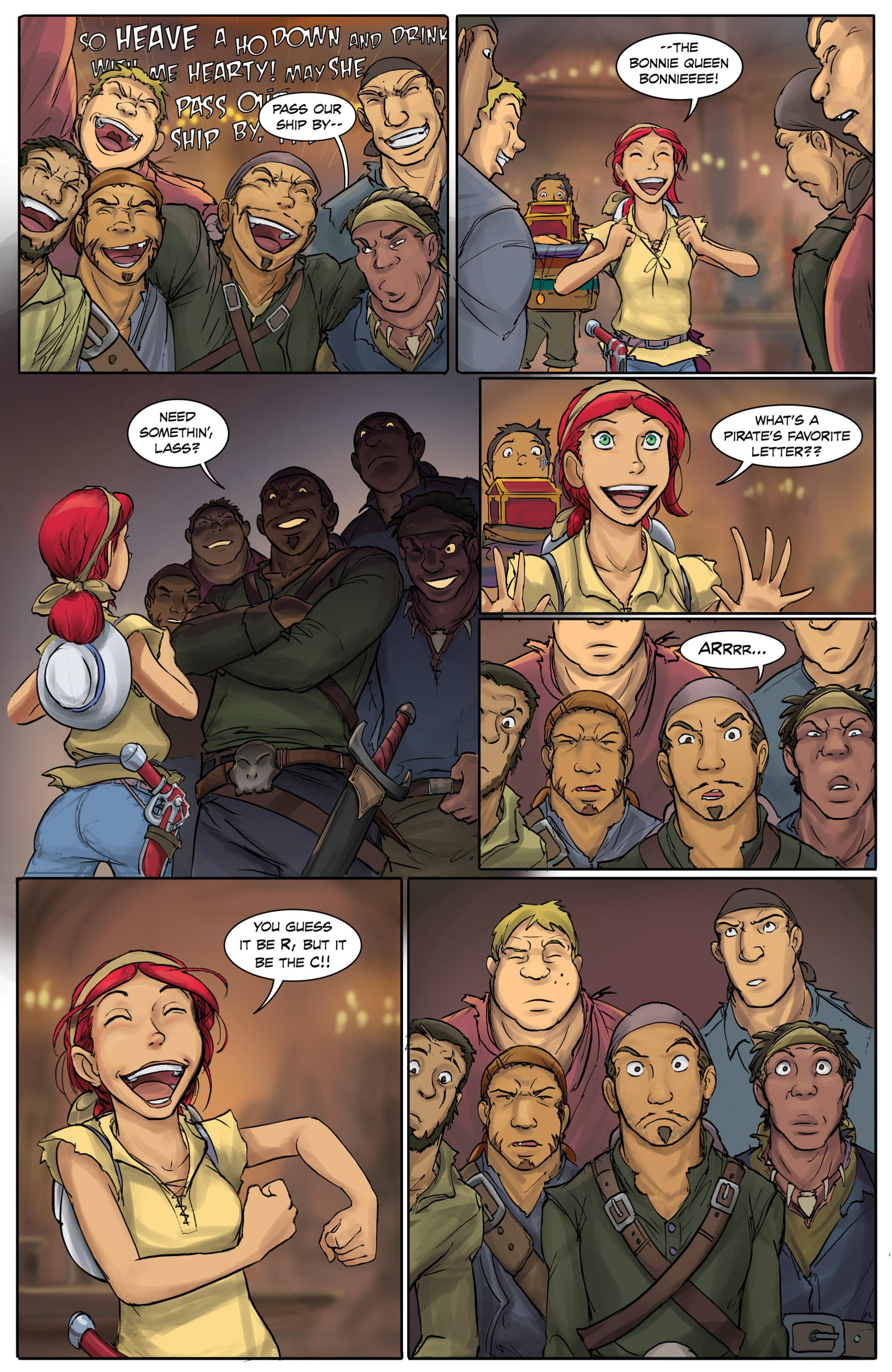 Read online Anne Bonnie comic -  Issue #4 - 19