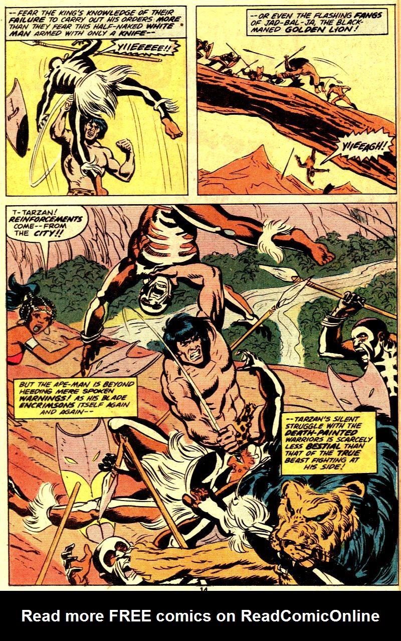 Read online Tarzan (1977) comic -  Issue # _Annual 2 - 12