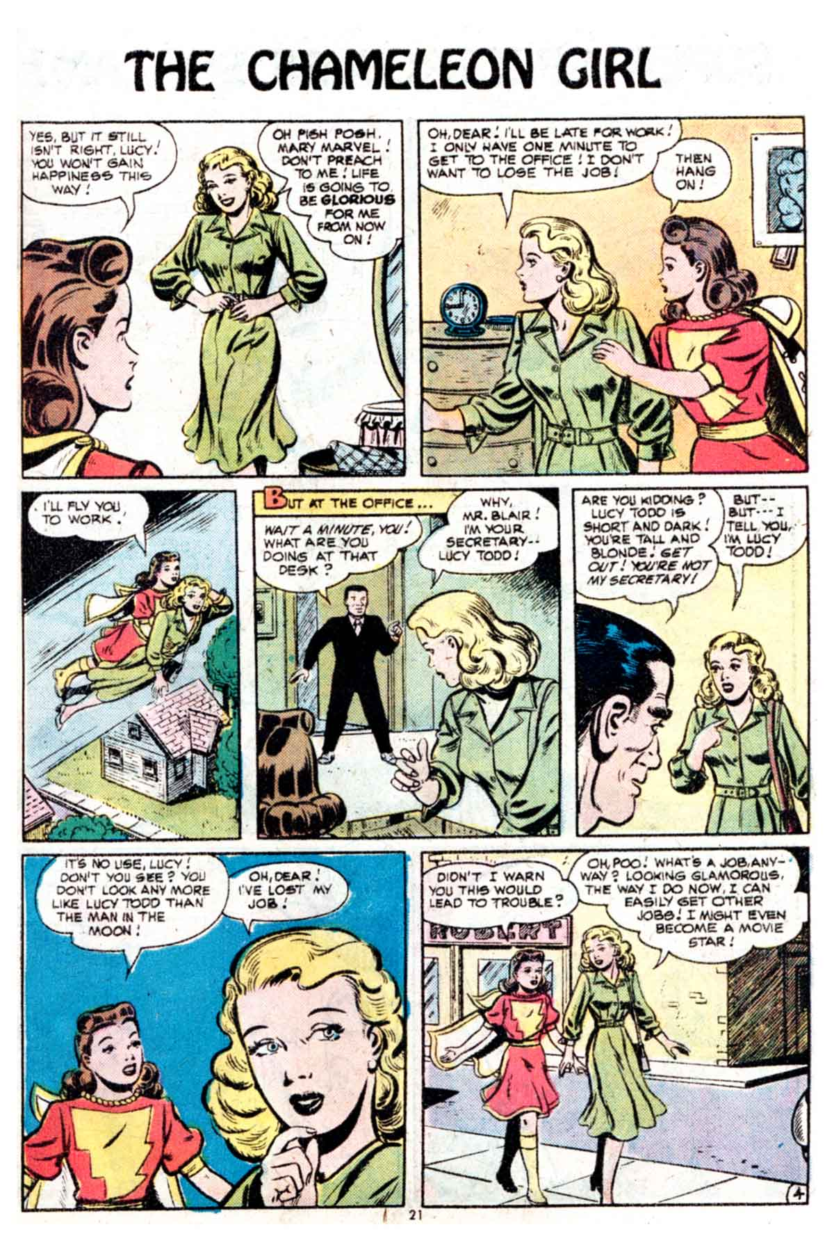 Read online Shazam! (1973) comic -  Issue #15 - 21