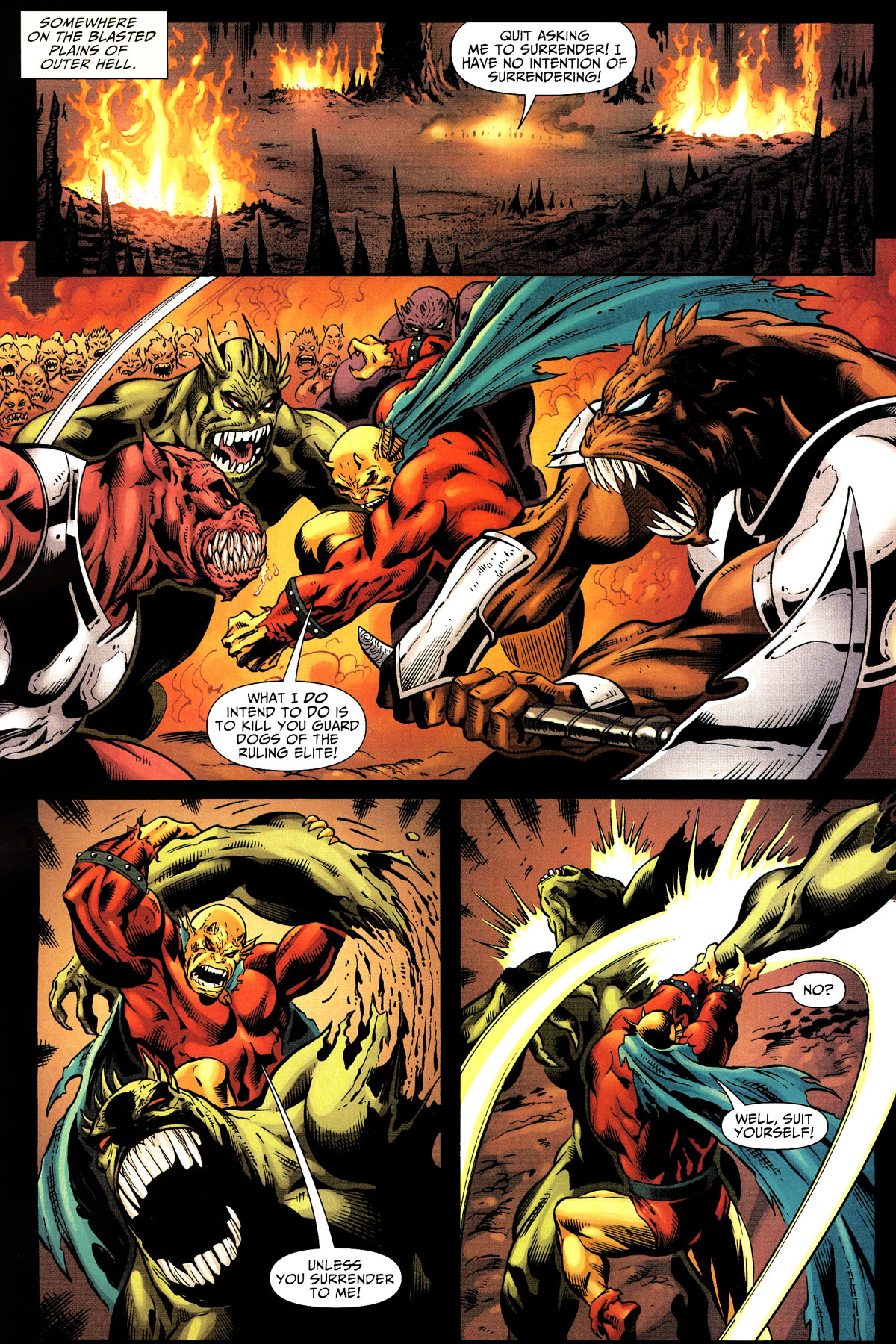 Read online Shadowpact comic -  Issue #10 - 11
