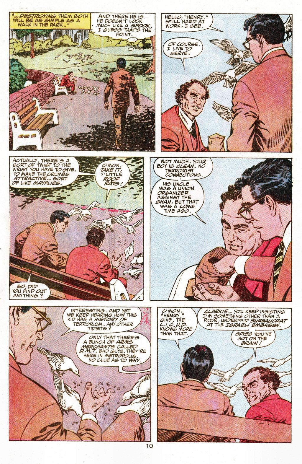 Read online Action Comics (1938) comic -  Issue #658 - 11