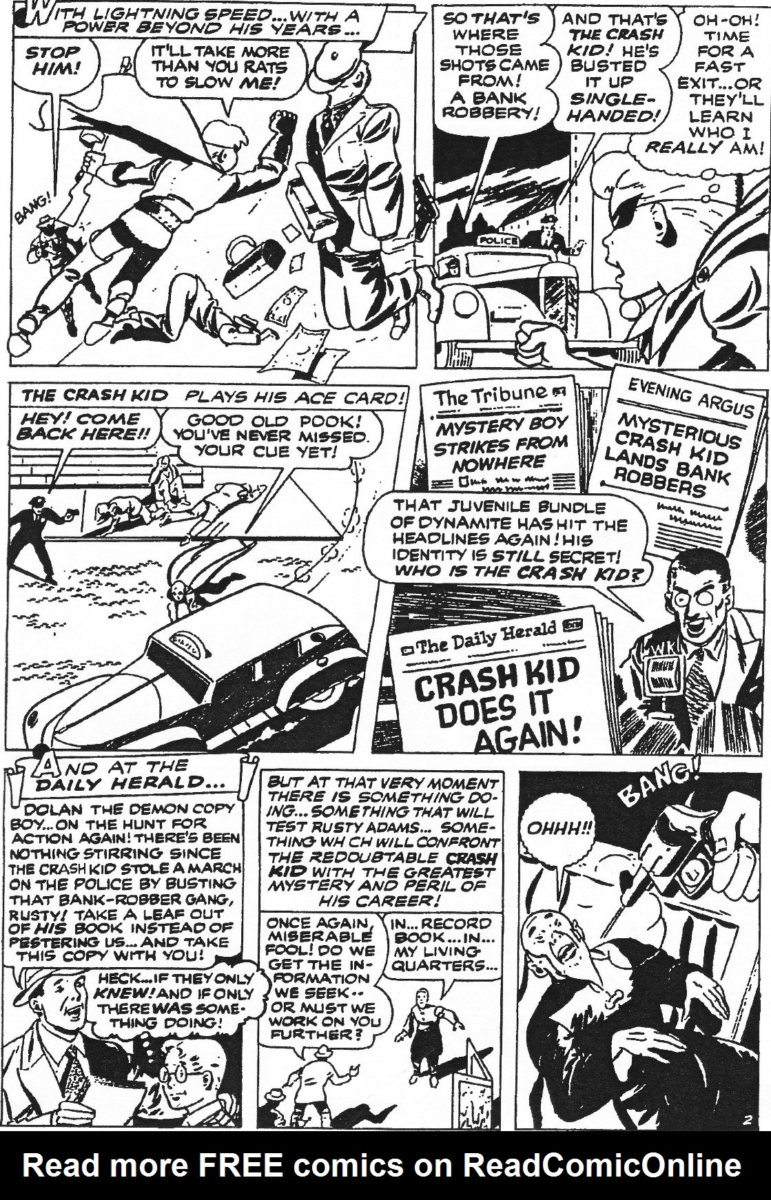Read online Men of Mystery Comics comic -  Issue #84 - 131