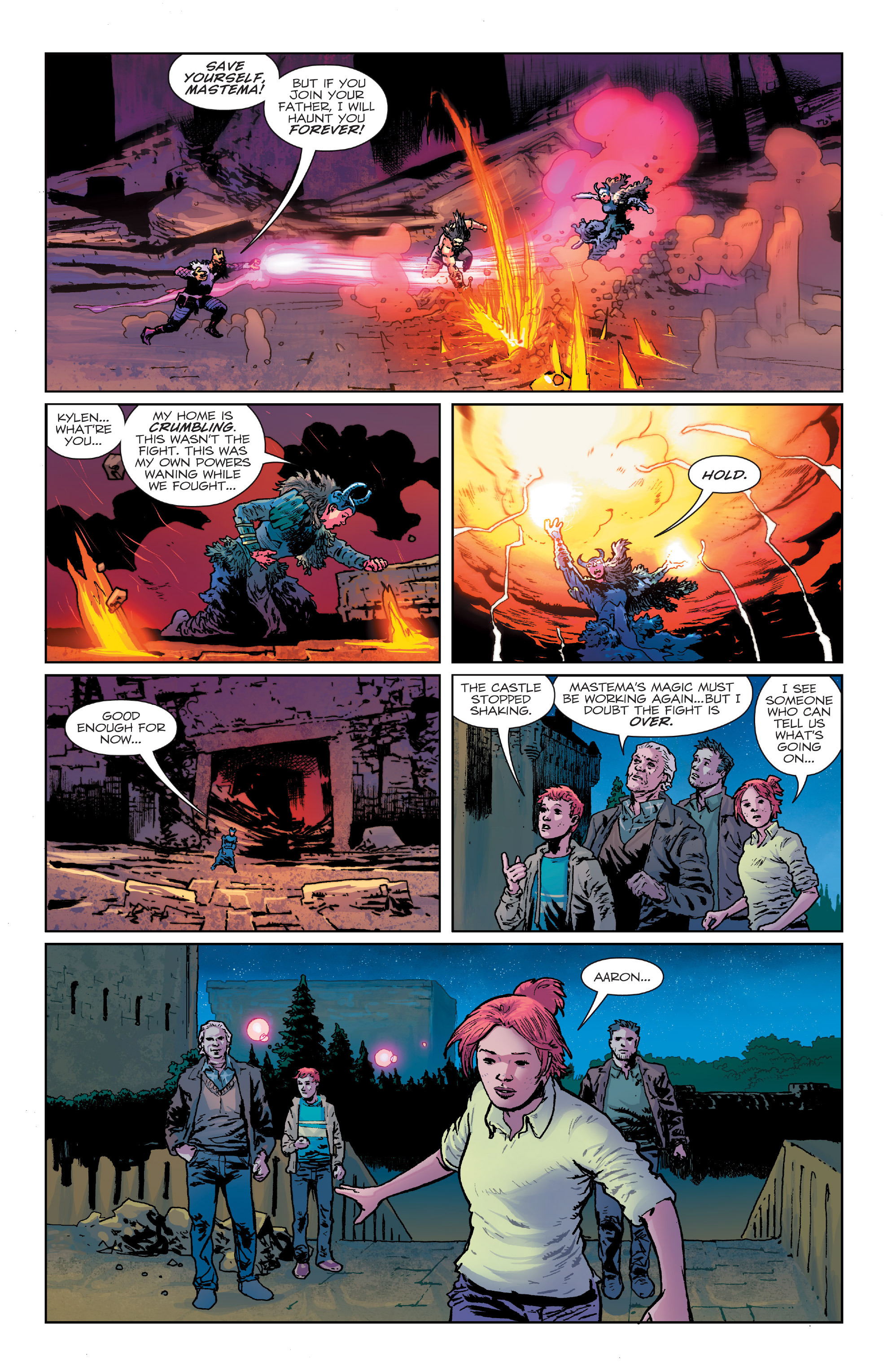 Read online Birthright (2014) comic -  Issue #24 - 12