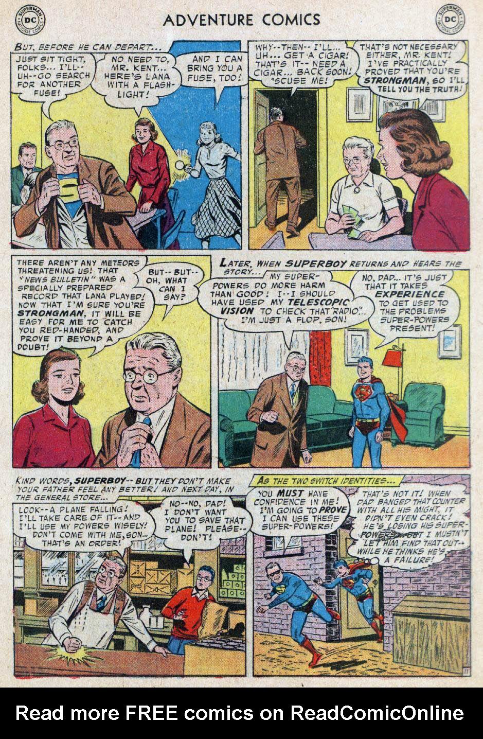Read online Adventure Comics (1938) comic -  Issue #236 - 13
