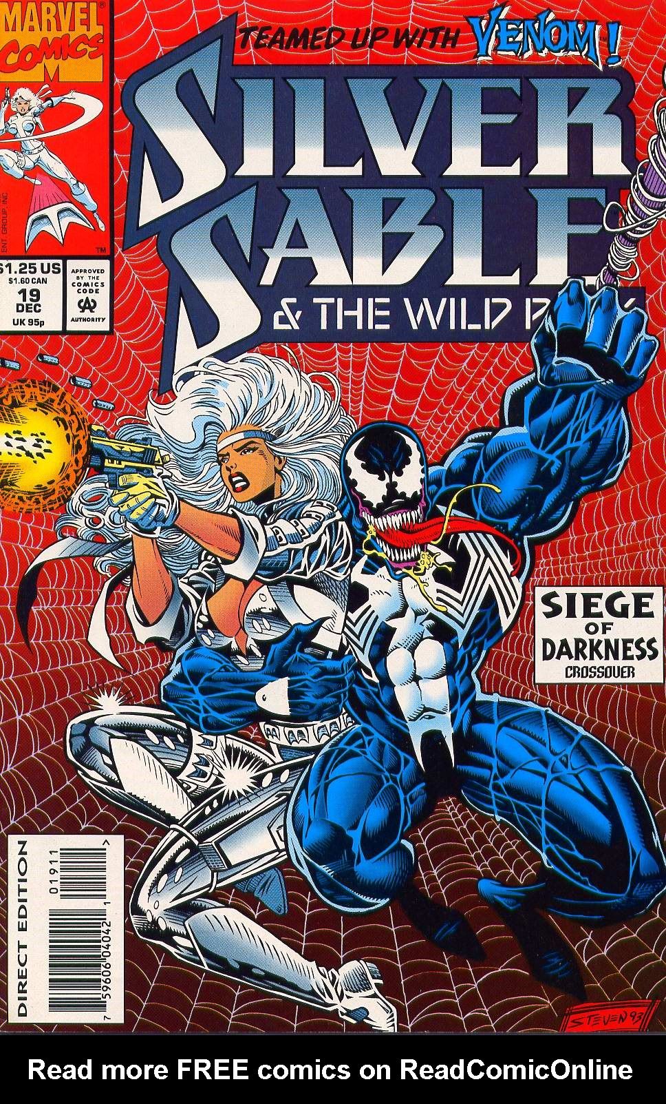 Read online Silver Sable and the Wild Pack comic -  Issue #19 - 1