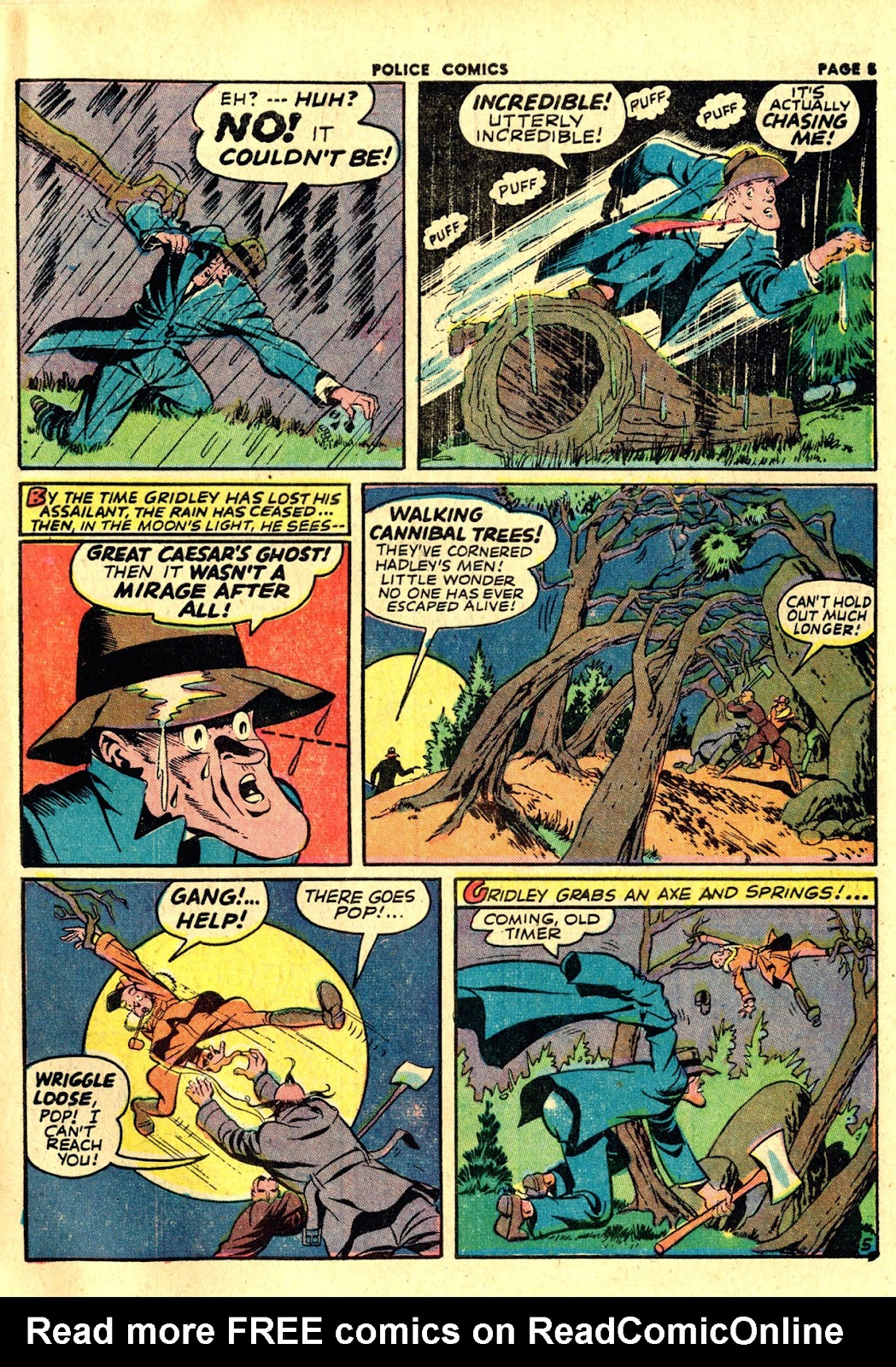 Police Comics issue 19 - Page 7