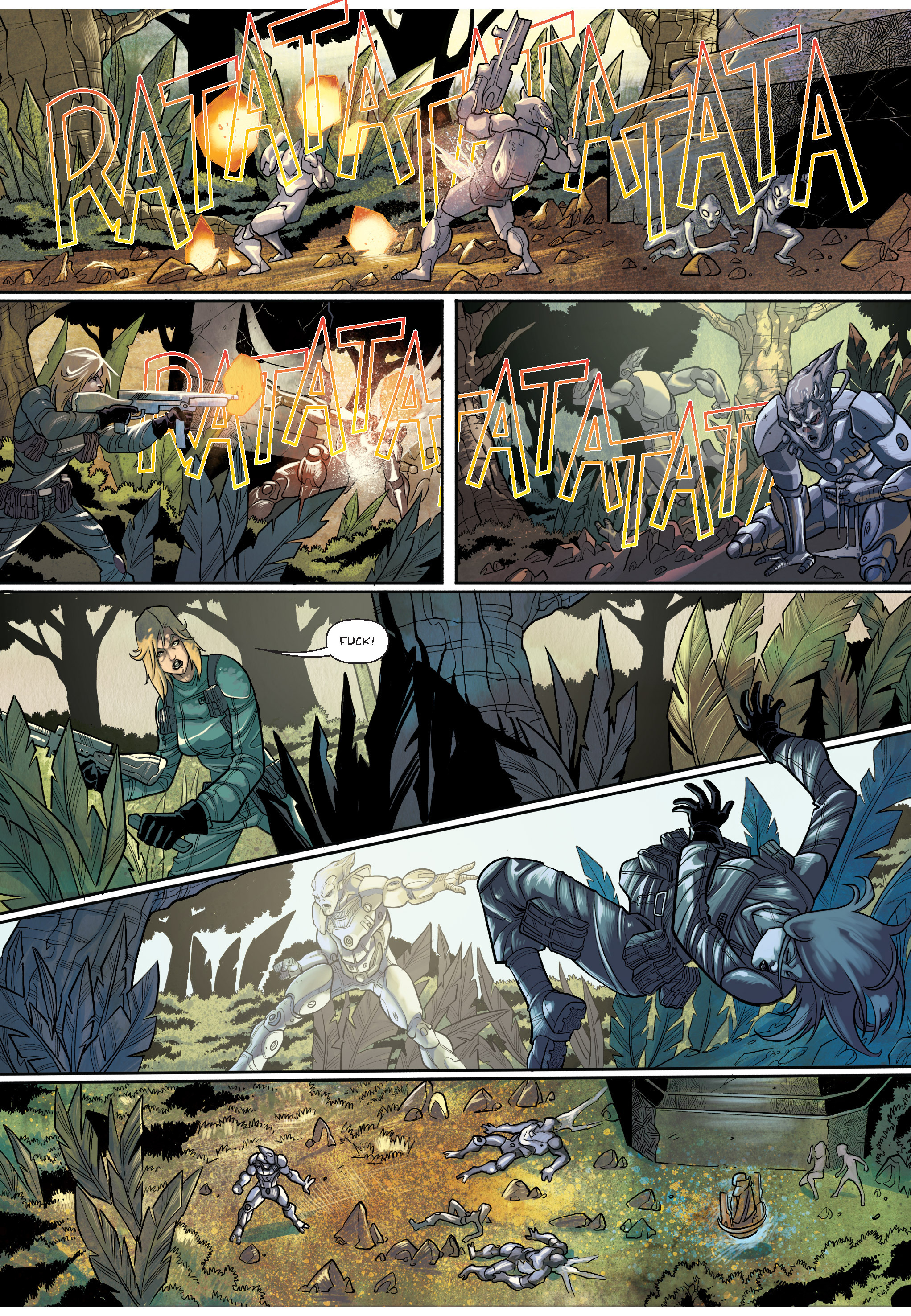 Read online The Shadow of a Terrible Thing comic -  Issue # TPB - 66
