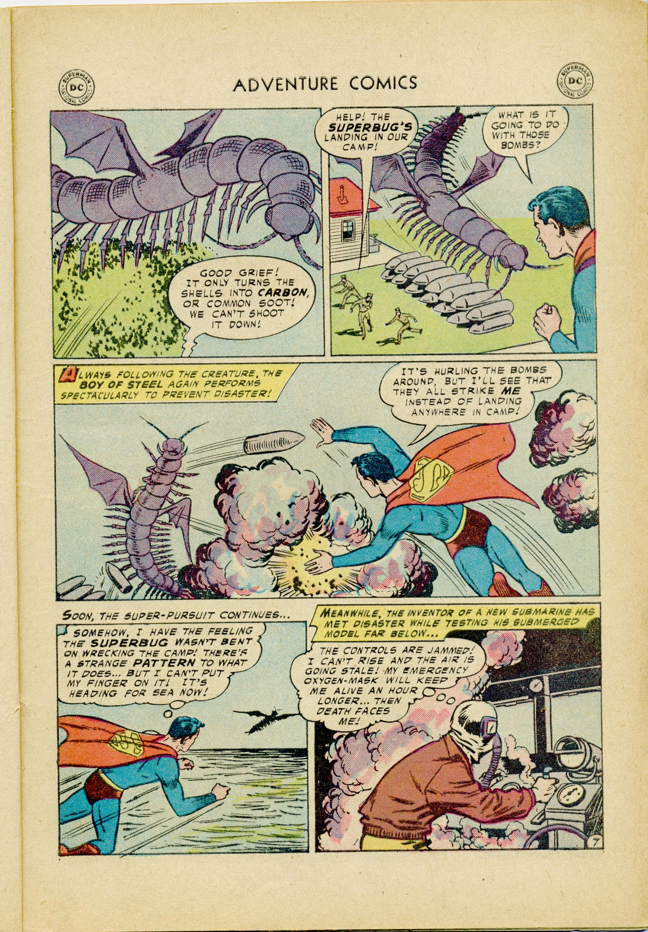 Read online Adventure Comics (1938) comic -  Issue #245 - 9