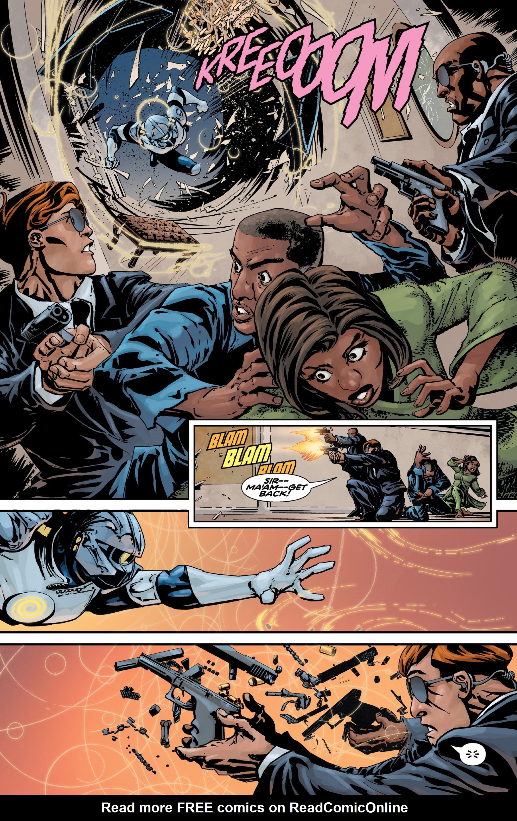 Read online Brain Boy:  The Men from G.E.S.T.A.L.T. comic -  Issue # TPB - 13