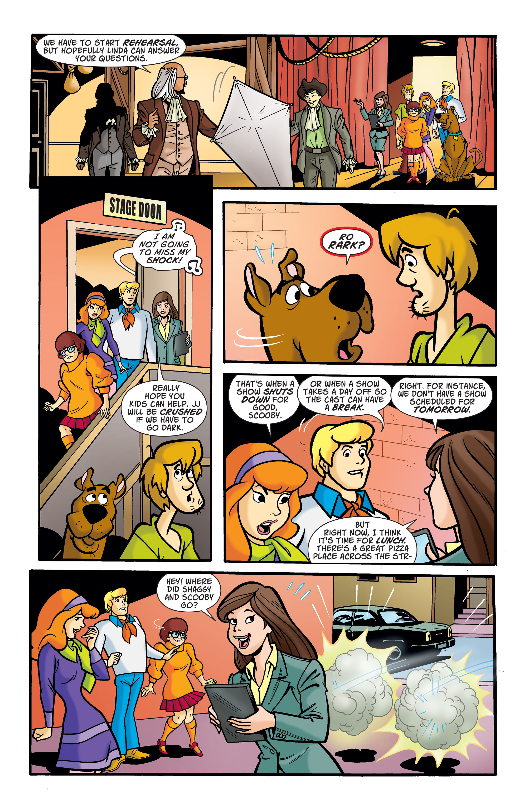 Read online Scooby-Doo: Where Are You? comic -  Issue #74 - 6