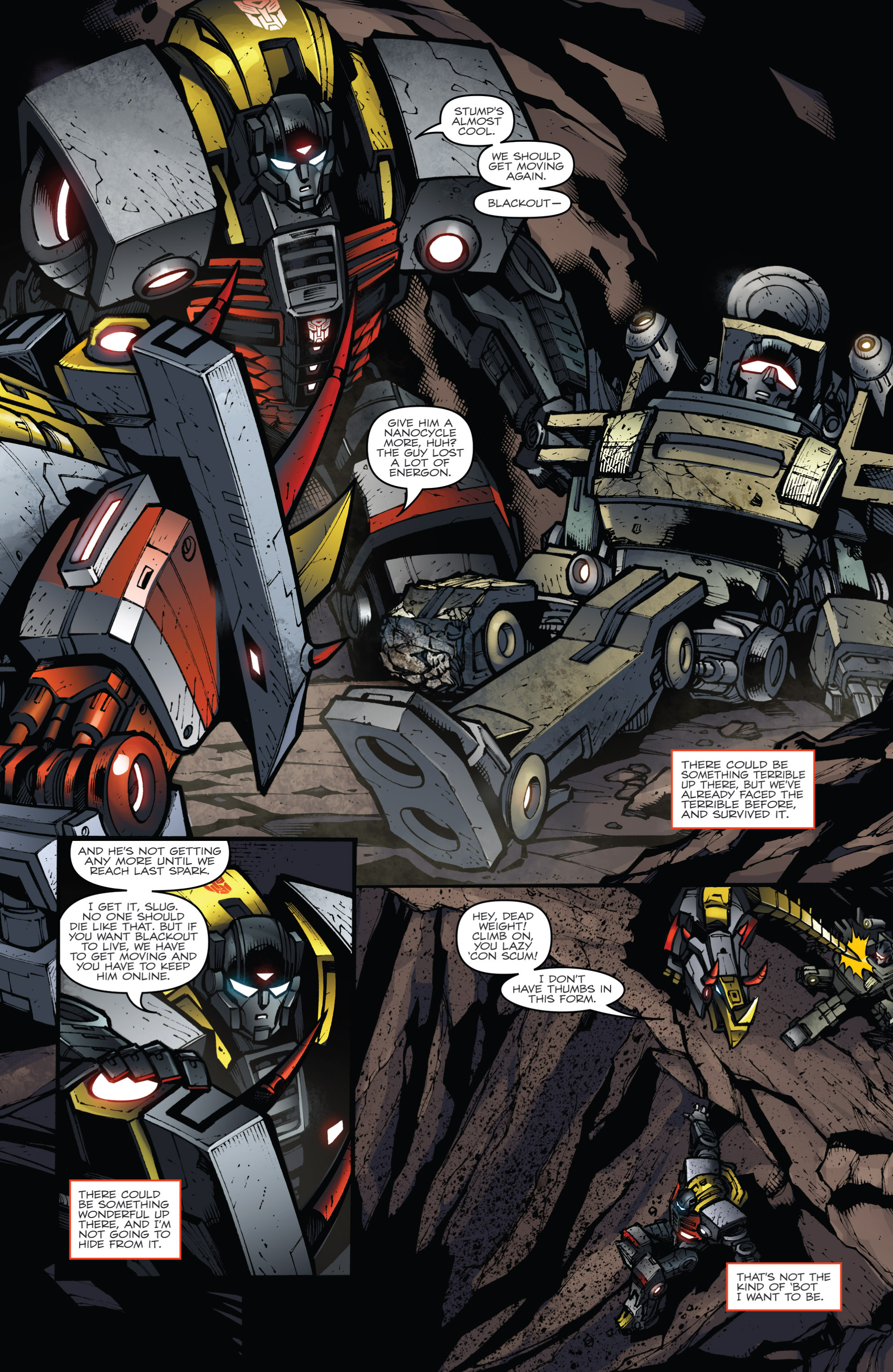 Read online Transformers Prime: Beast Hunters comic -  Issue #6 - 11