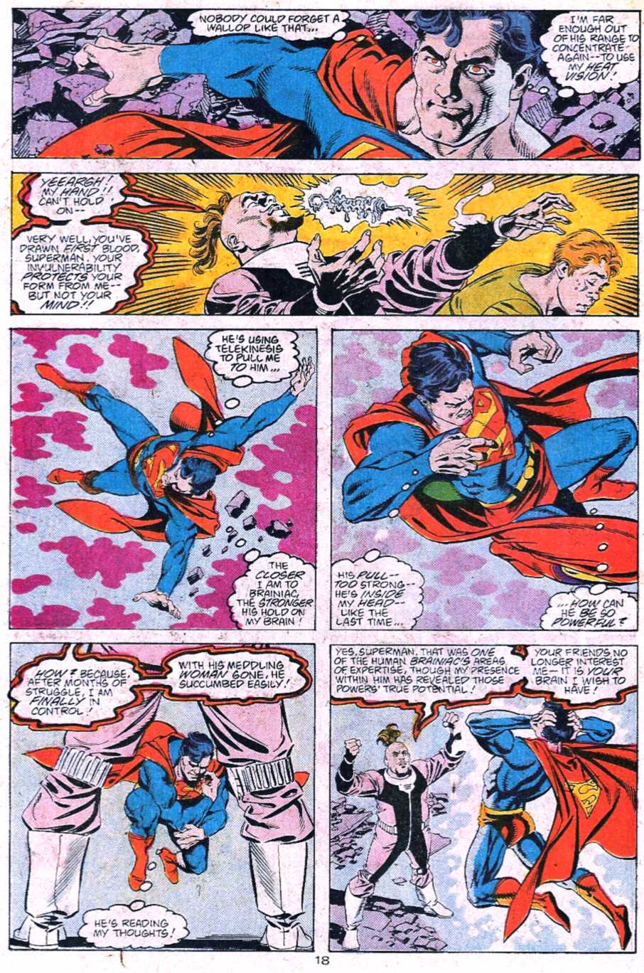 Read online Adventures of Superman (1987) comic -  Issue #445 - 19