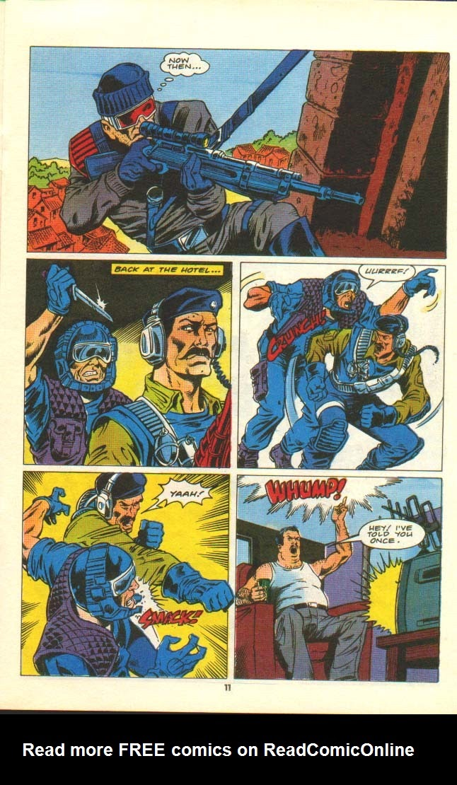G.I. Joe European Missions issue 7 - Page 10