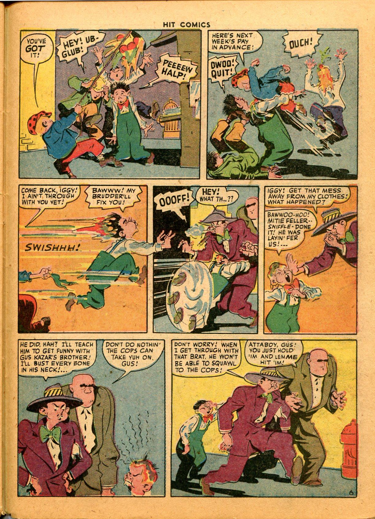 Read online Hit Comics comic -  Issue #35 - 43