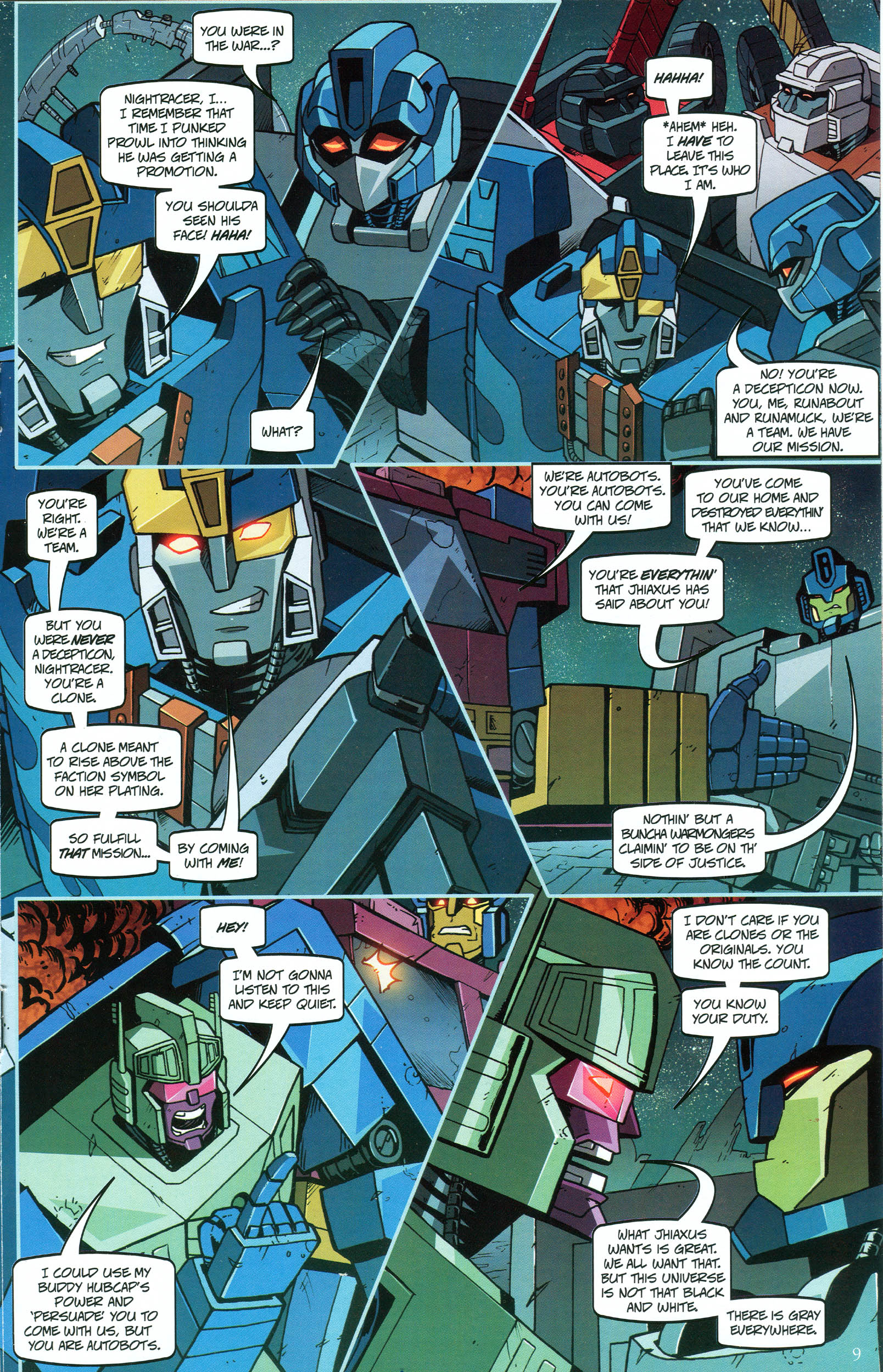 Read online Transformers: Collectors' Club comic -  Issue #48 - 9