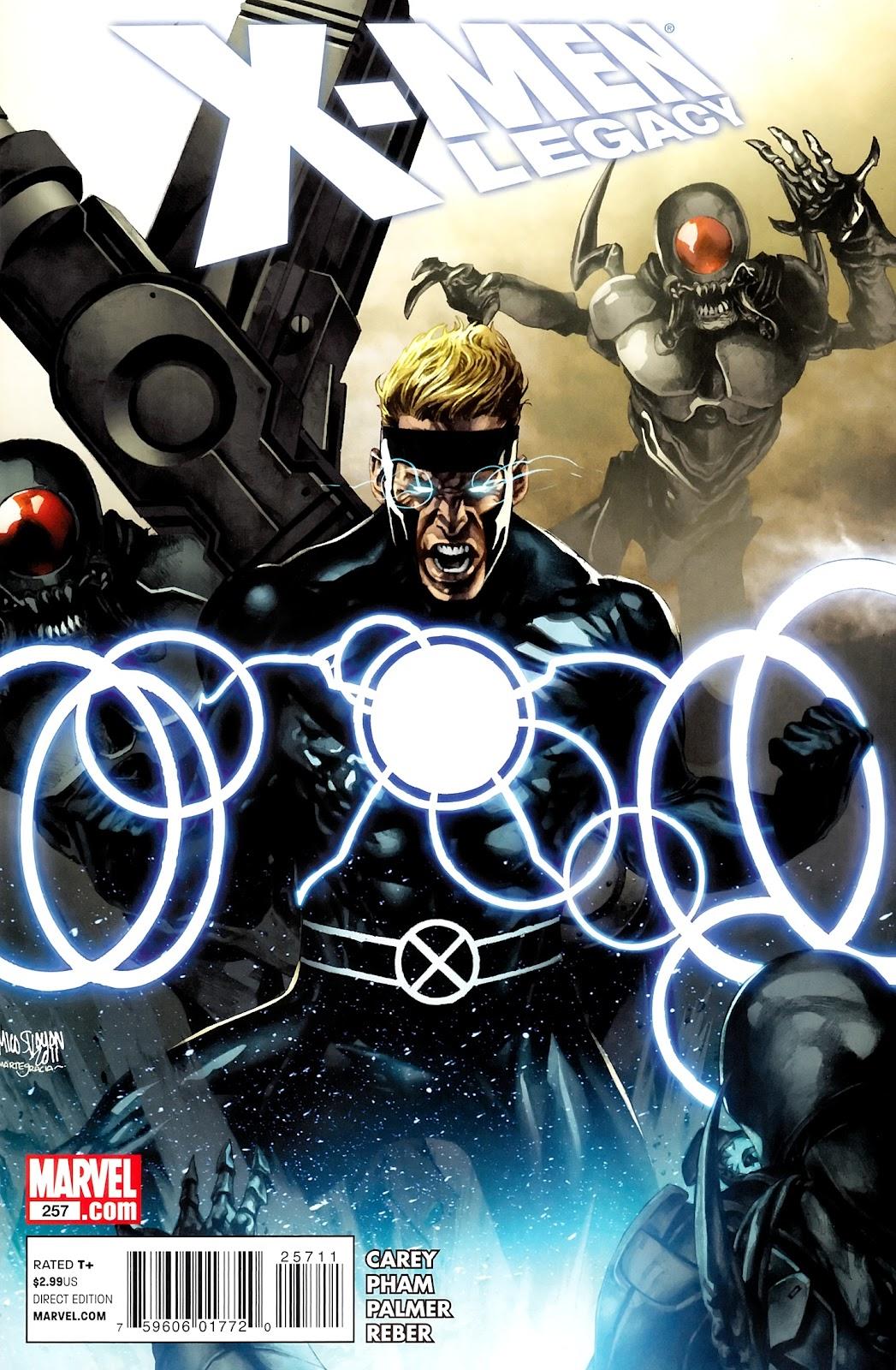 X-Men Legacy (2008) 257 Page 1