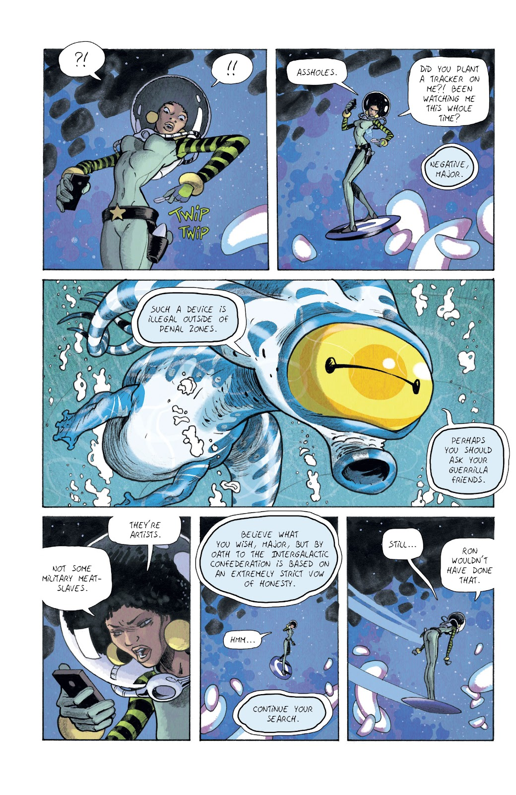 Read online Infinity 8 comic -  Issue #10 - 22