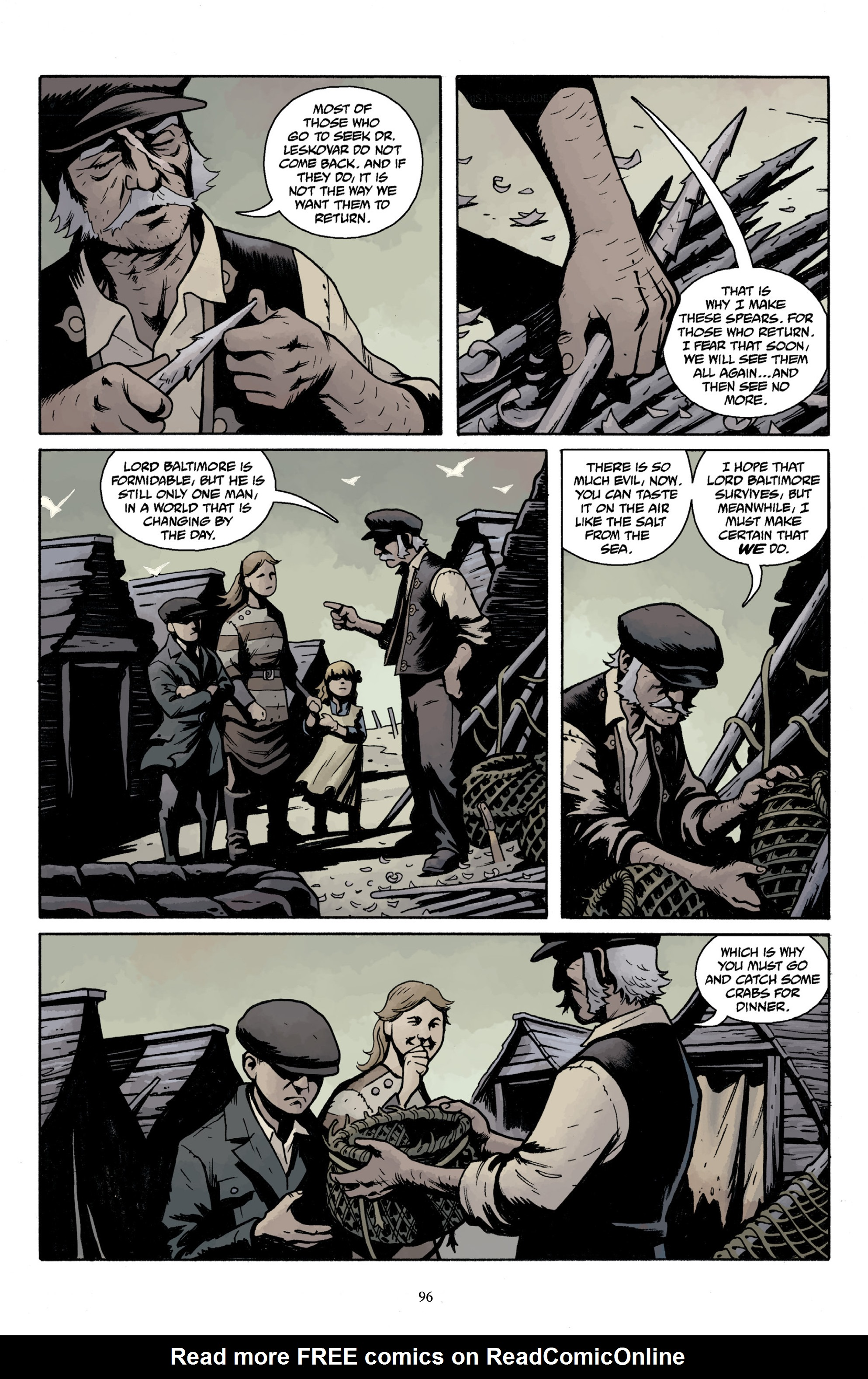 Read online Baltimore Volume 3: A Passing Stranger and Other Stories comic -  Issue # Full - 98