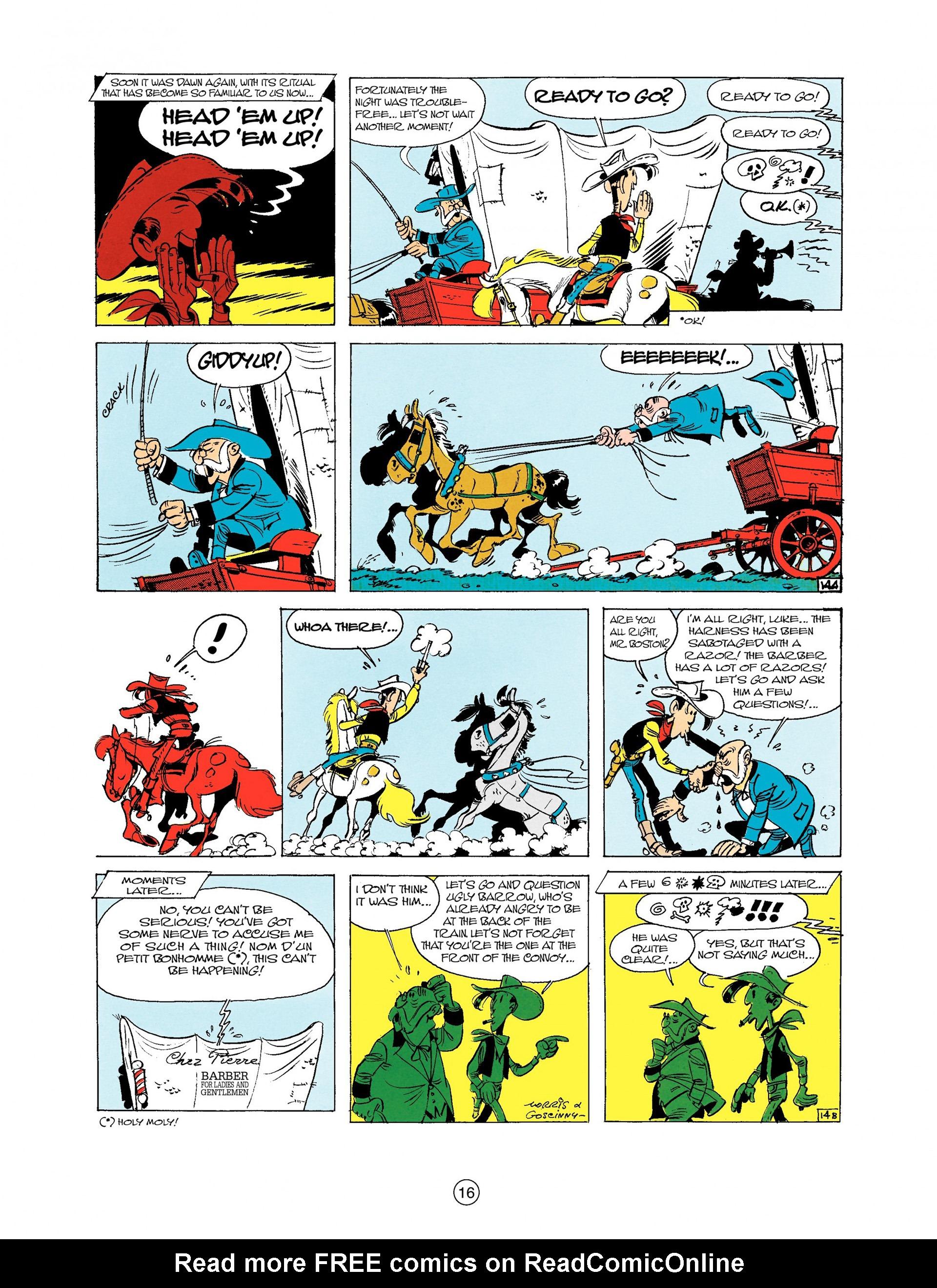Read online A Lucky Luke Adventure comic -  Issue #9 - 16
