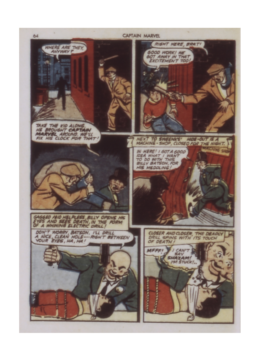 Captain Marvel Adventures issue 9 - Page 64