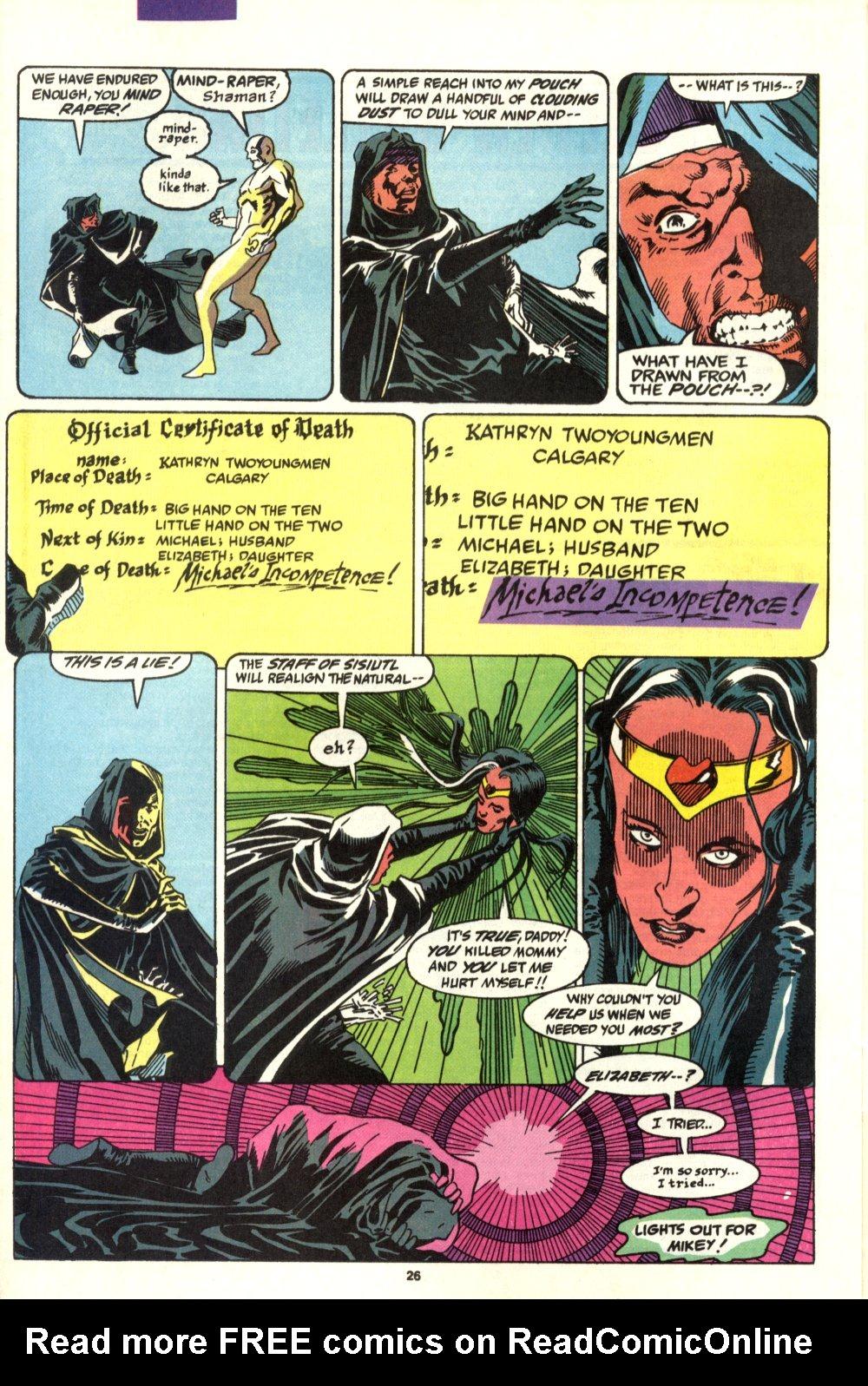 Read online Alpha Flight (1983) comic -  Issue #93 - 21