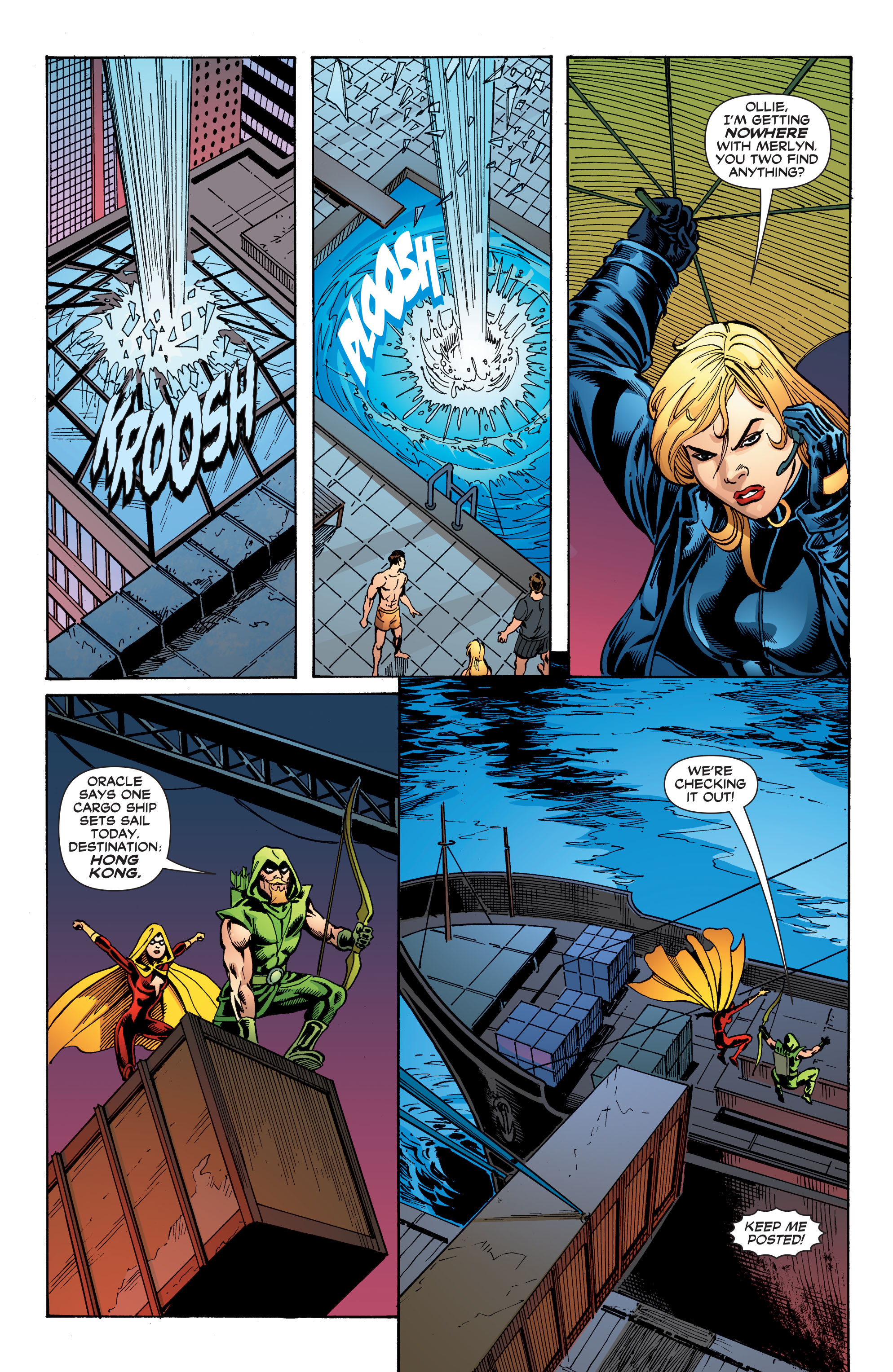 Read online Black Canary (2007) comic -  Issue #3 - 17