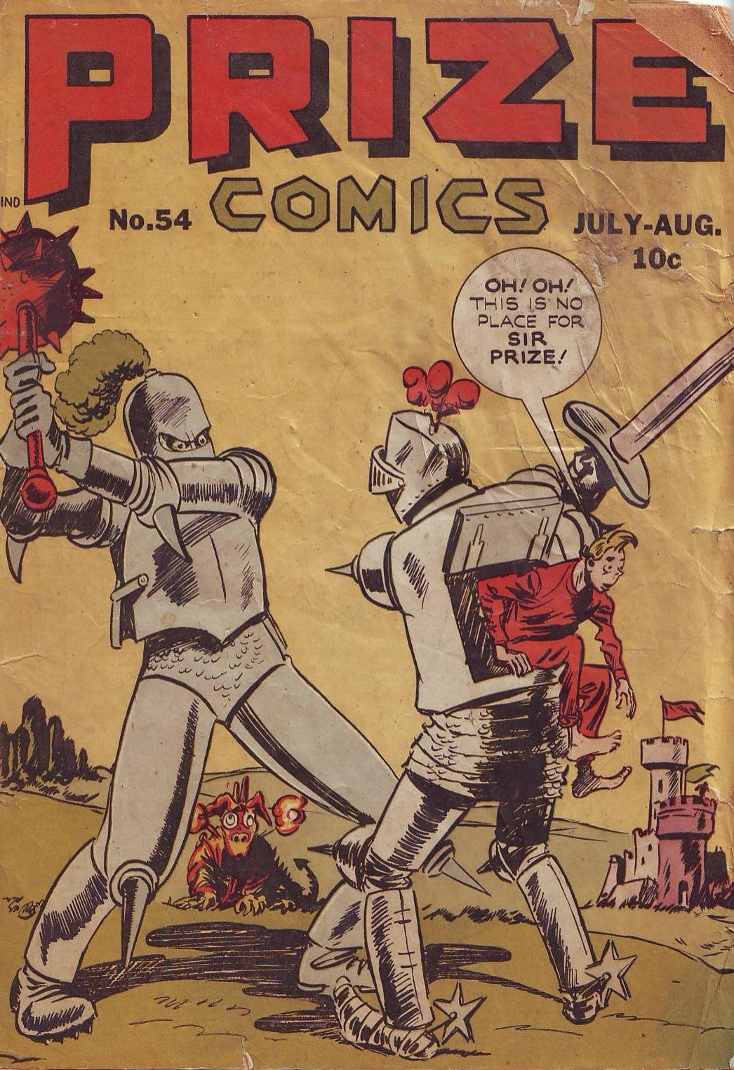 Prize Comics 54 Page 1