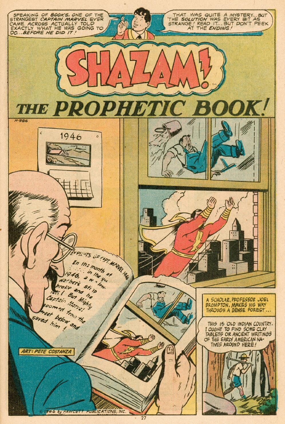 Read online Shazam! (1973) comic -  Issue #14 - 23