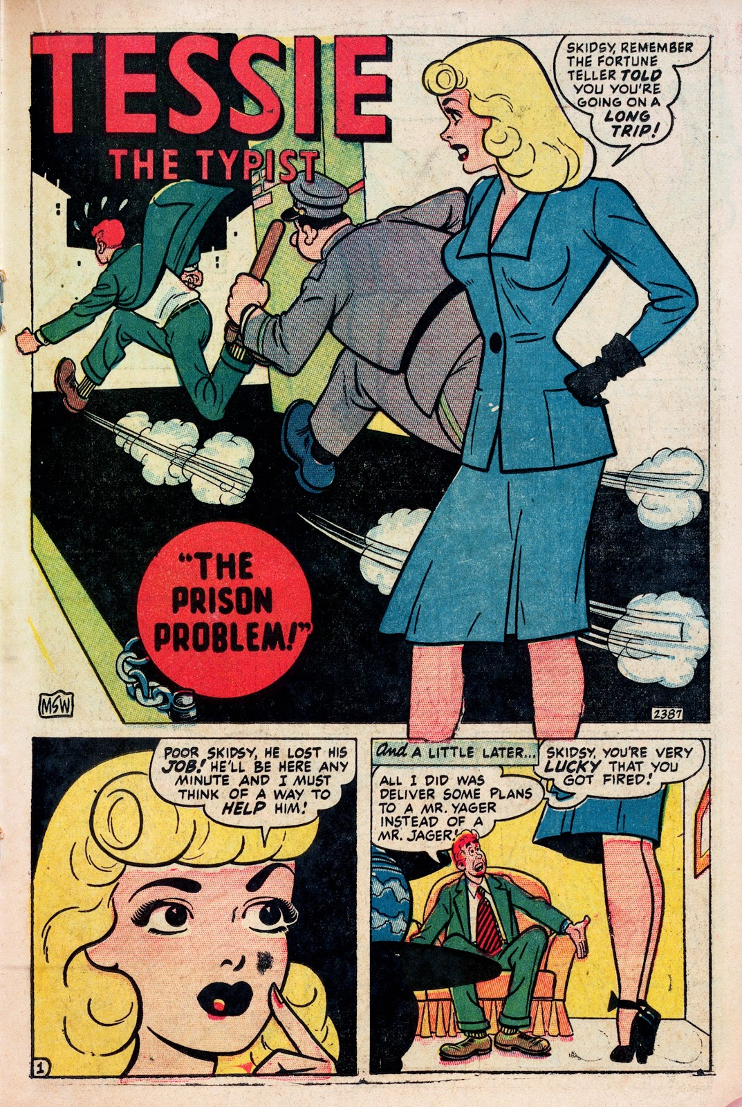 Read online Comedy Comics (1948) comic -  Issue #1 - 19