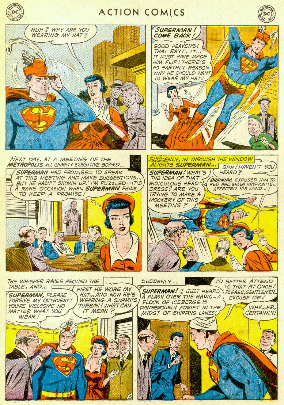 Action Comics (1938) 275 Page 6