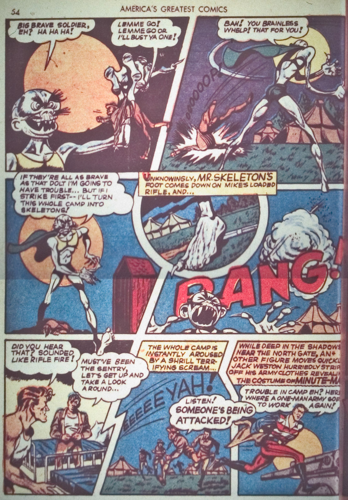 Read online America's Greatest Comics comic -  Issue #1 - 57