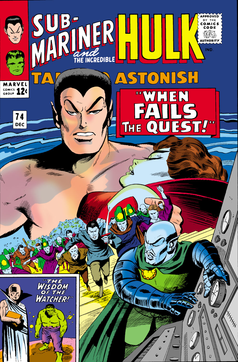 Tales to Astonish (1959) issue 74 - Page 1