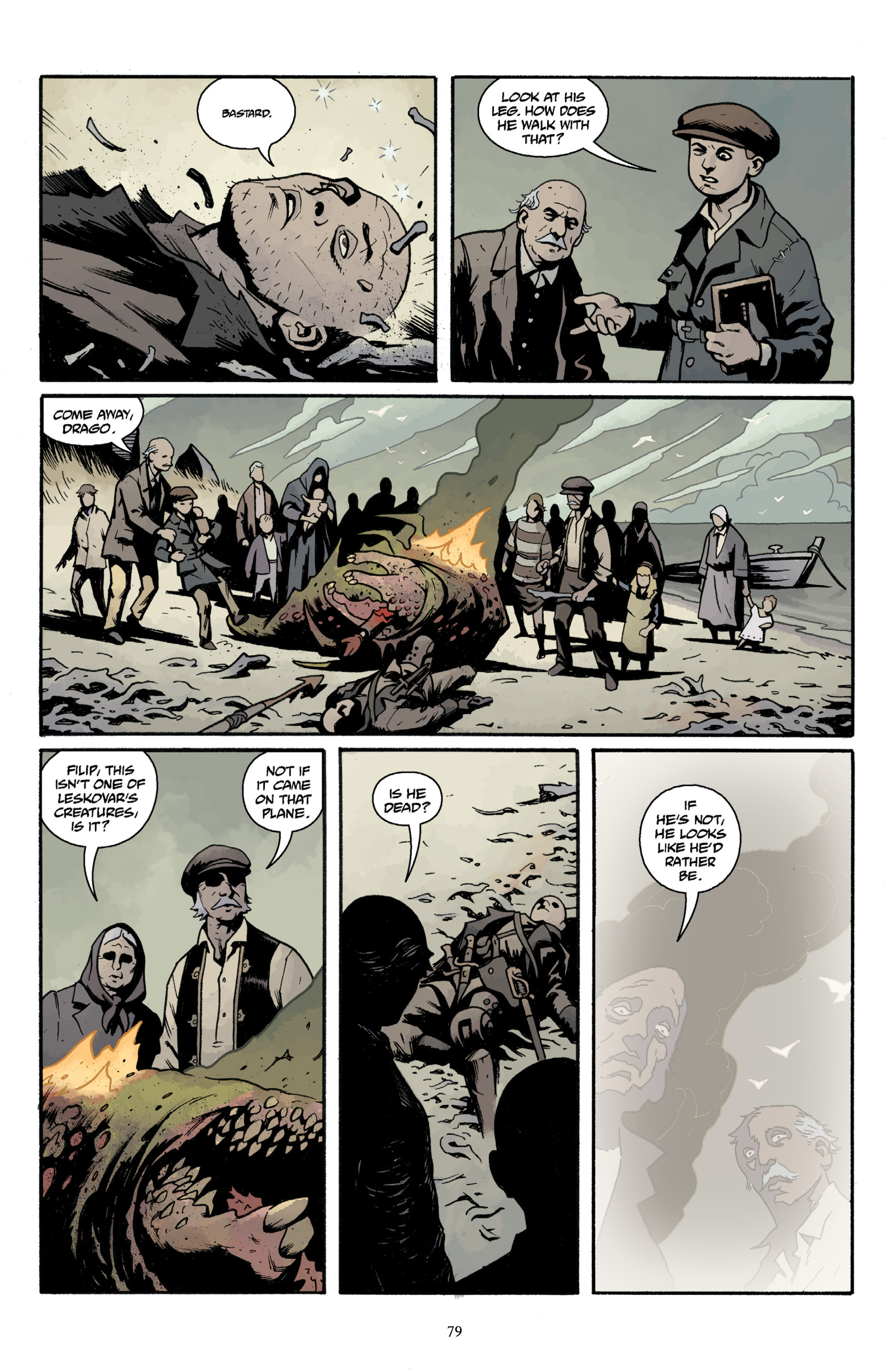 Read online Baltimore Volume 3: A Passing Stranger and Other Stories comic -  Issue # Full - 81