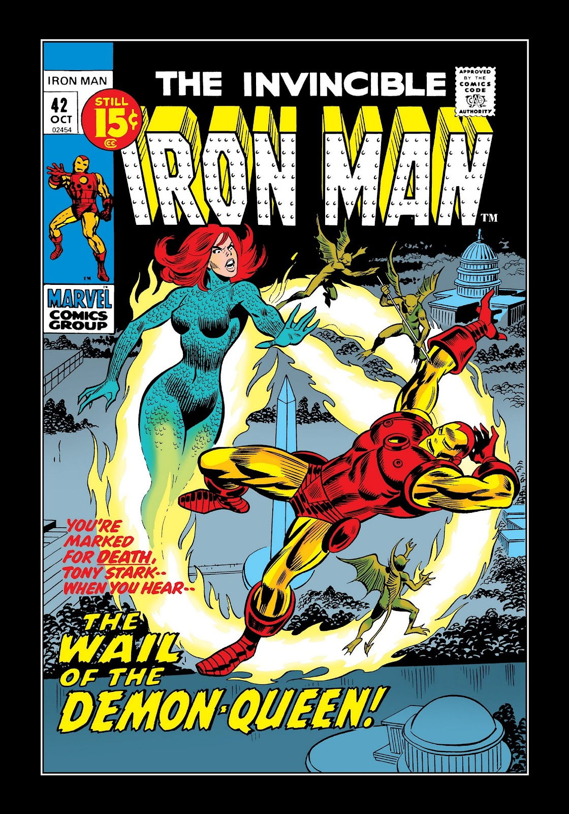 Read online Marvel Masterworks: The Invincible Iron Man comic -  Issue # TPB 8 (Part 1) - 67