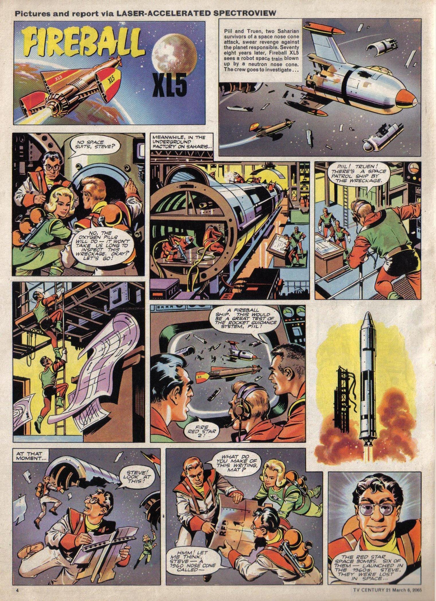 Read online TV Century 21 (TV 21) comic -  Issue #7 - 4