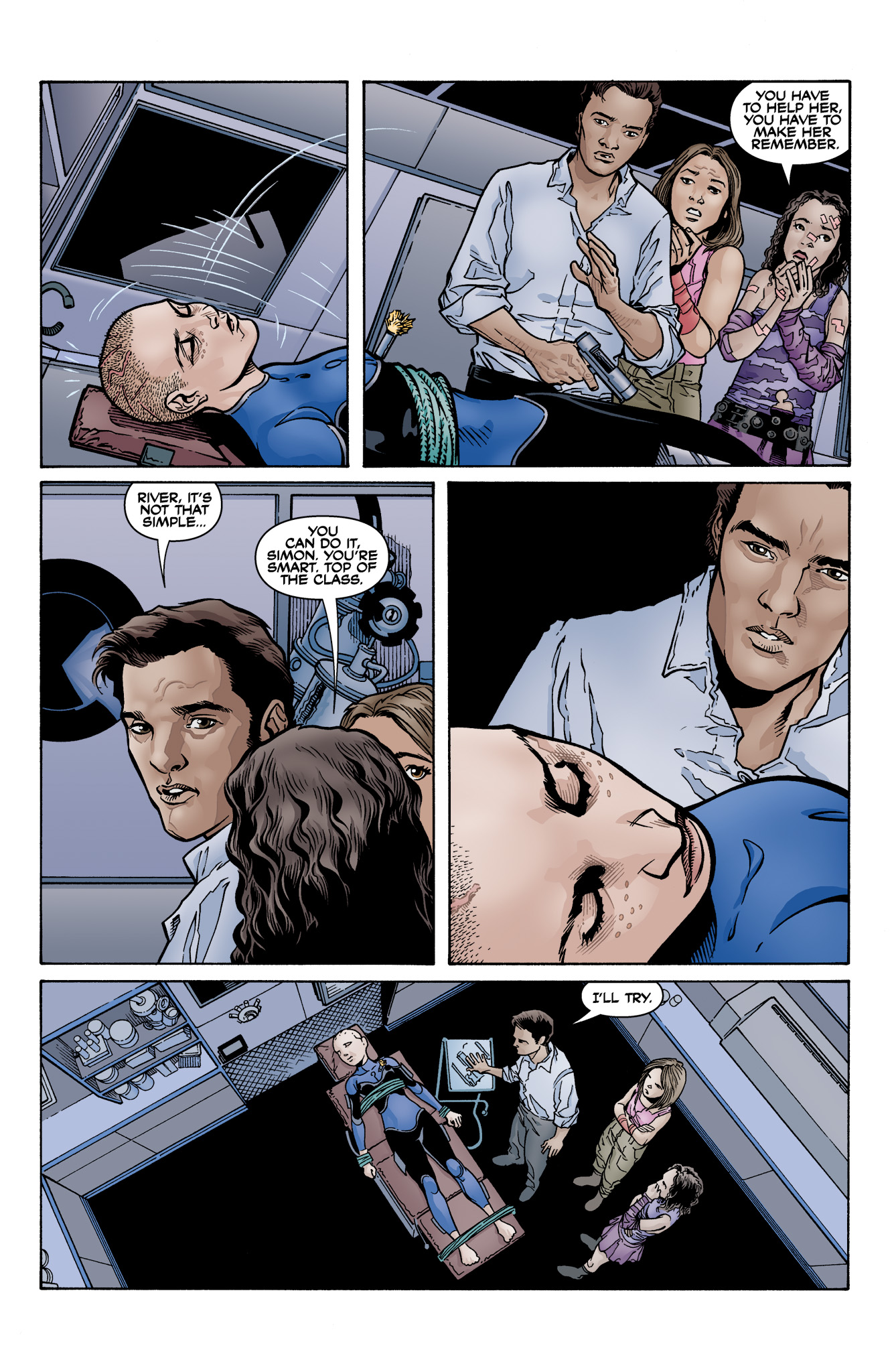 Read online Serenity: Firefly Class 03-K64  Leaves on the Wind comic -  Issue #6 - 6